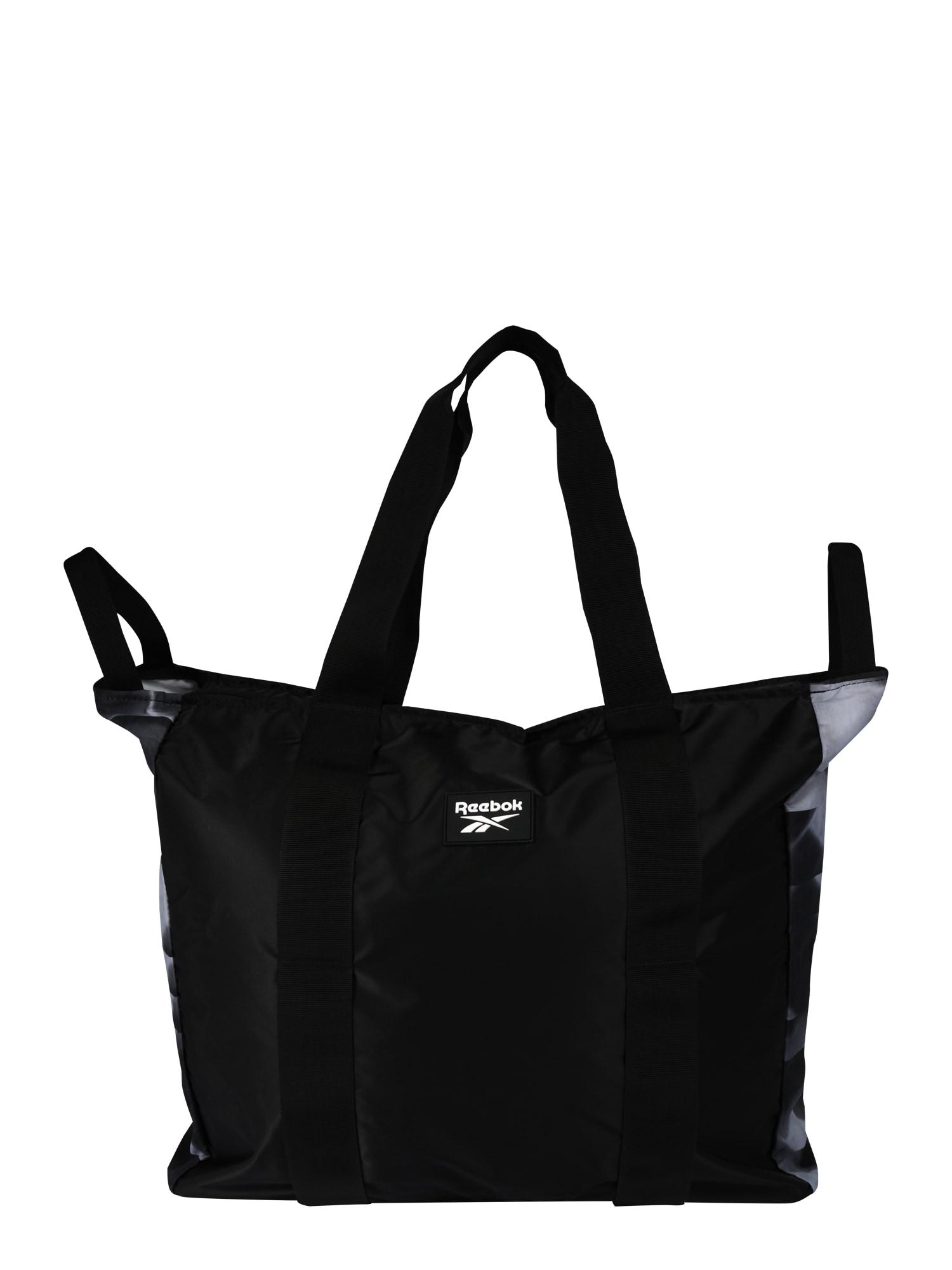 REEBOK Športová taška ' GRAPHIC'  čierna