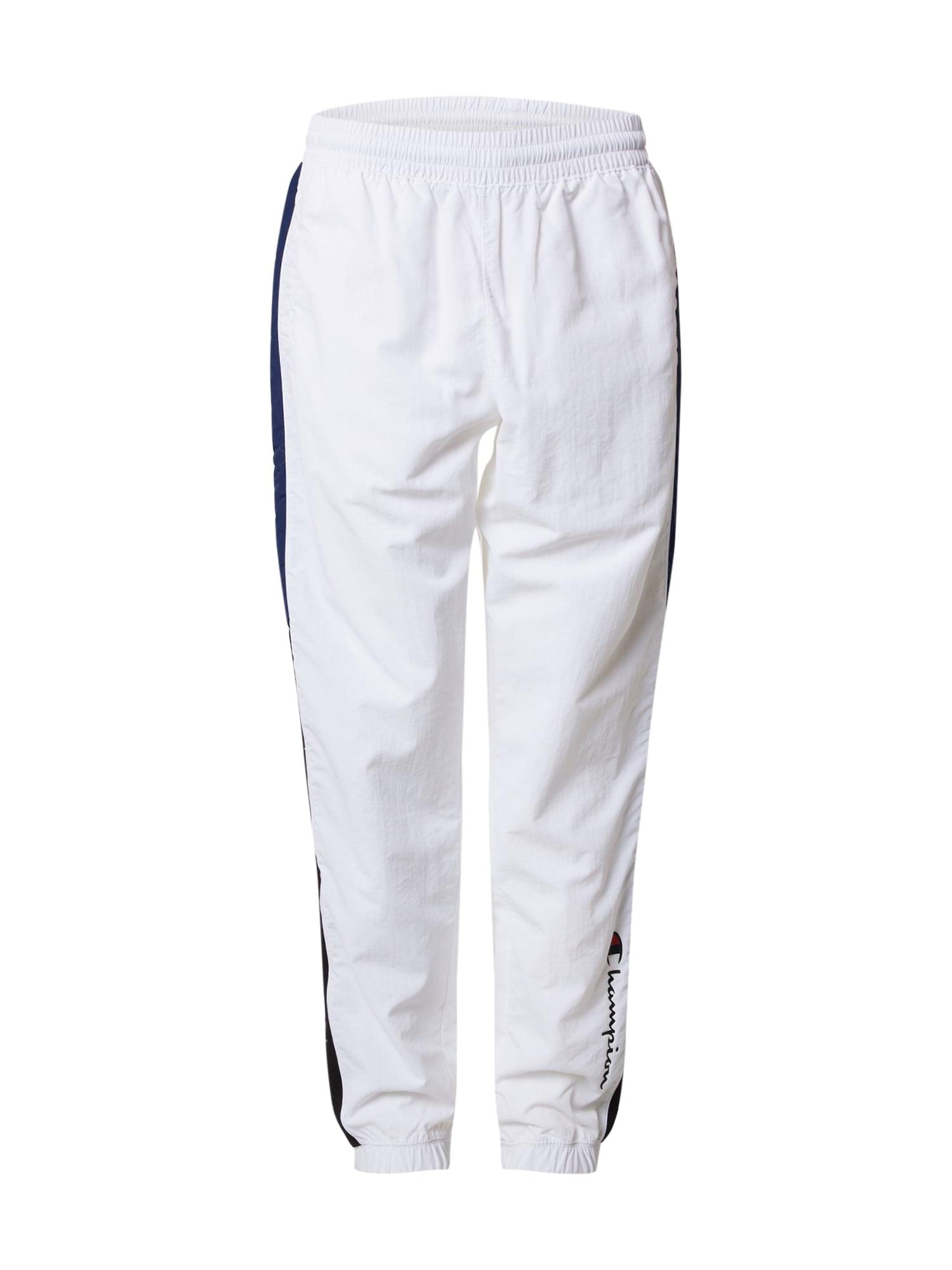 Champion Authentic Athletic Apparel Kalhoty  bílá / námořnická modř