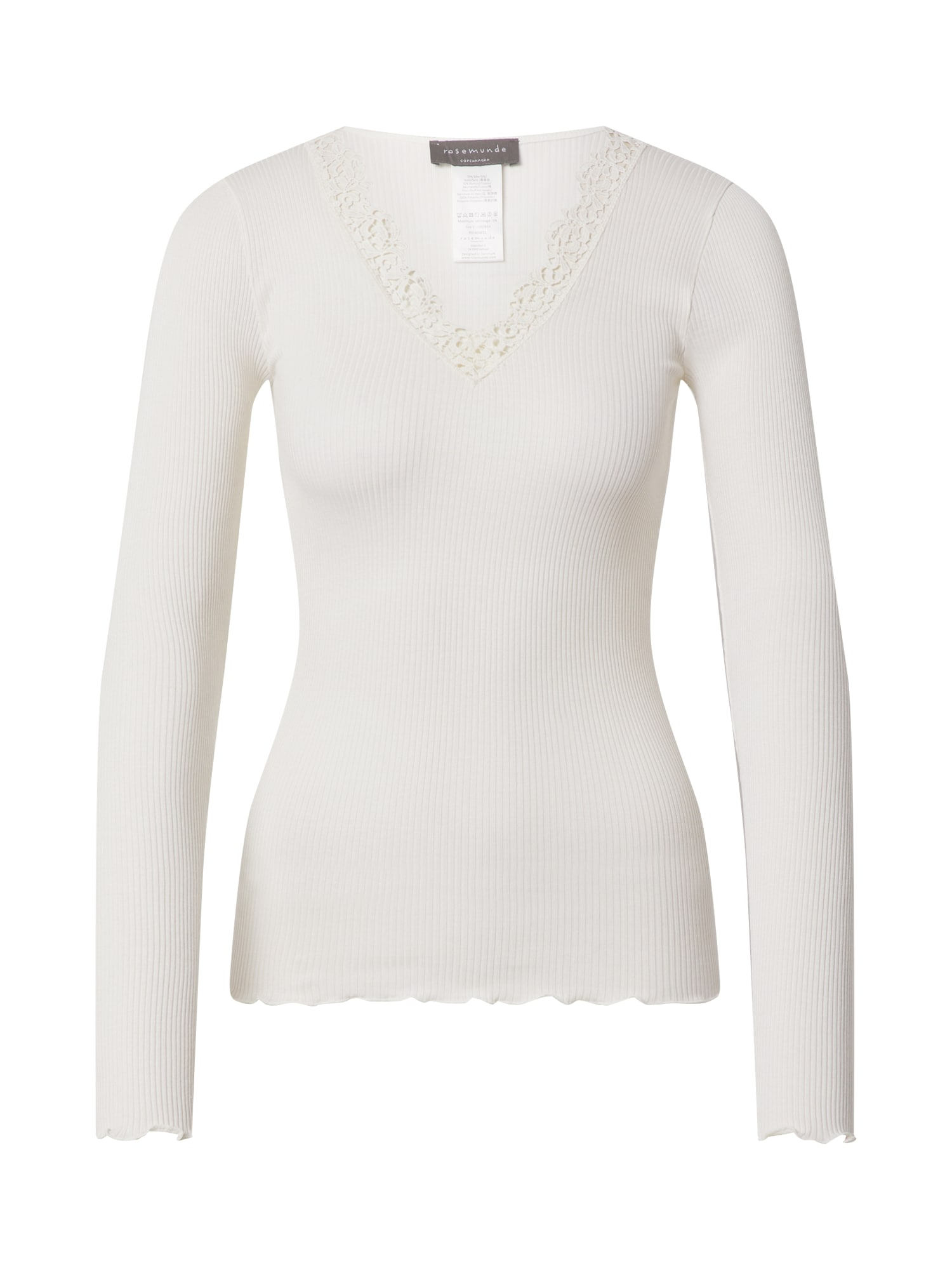 rosemunde Tričko  bílá