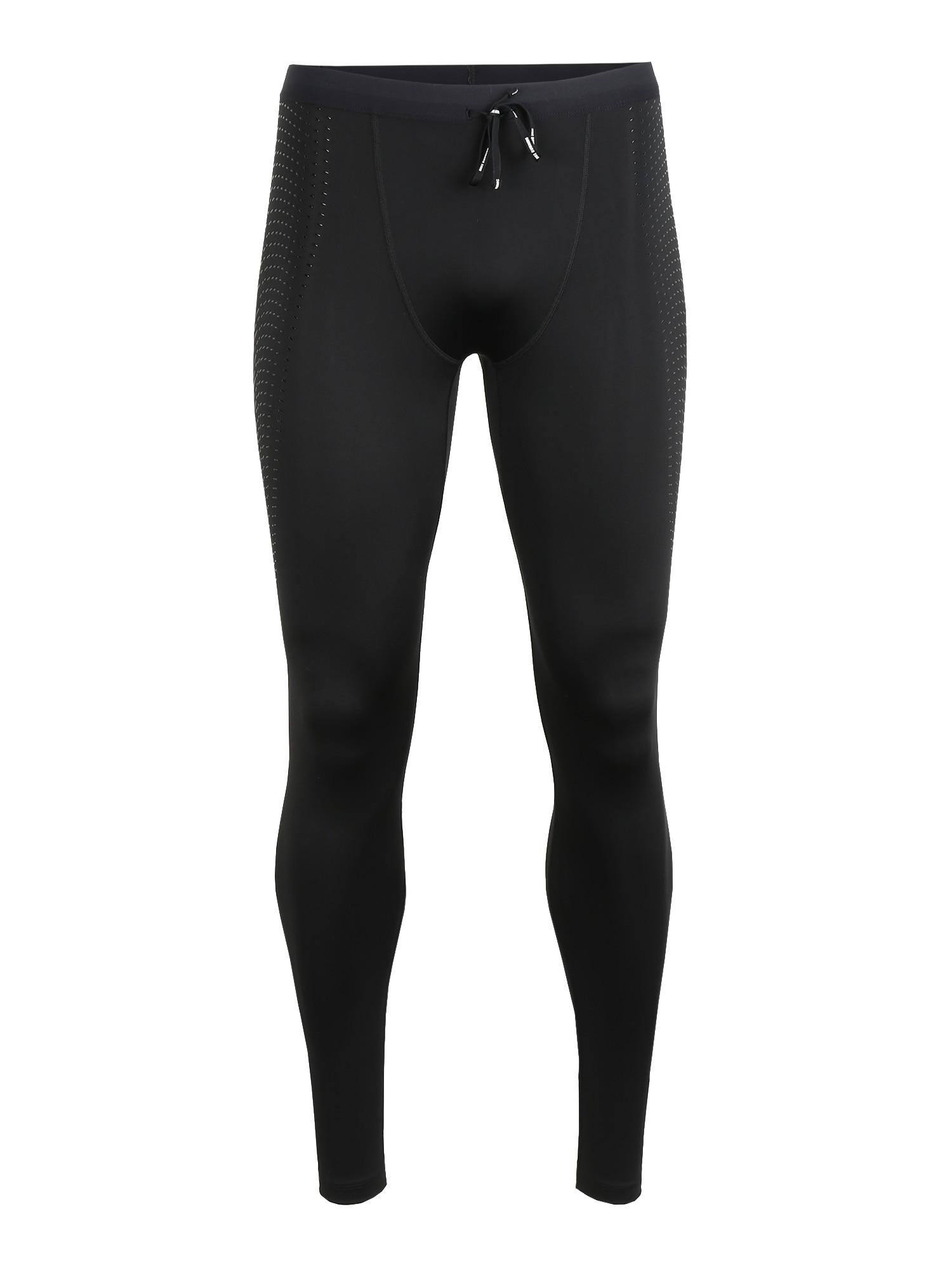 NIKE Sportinės kelnės 'Power' juoda