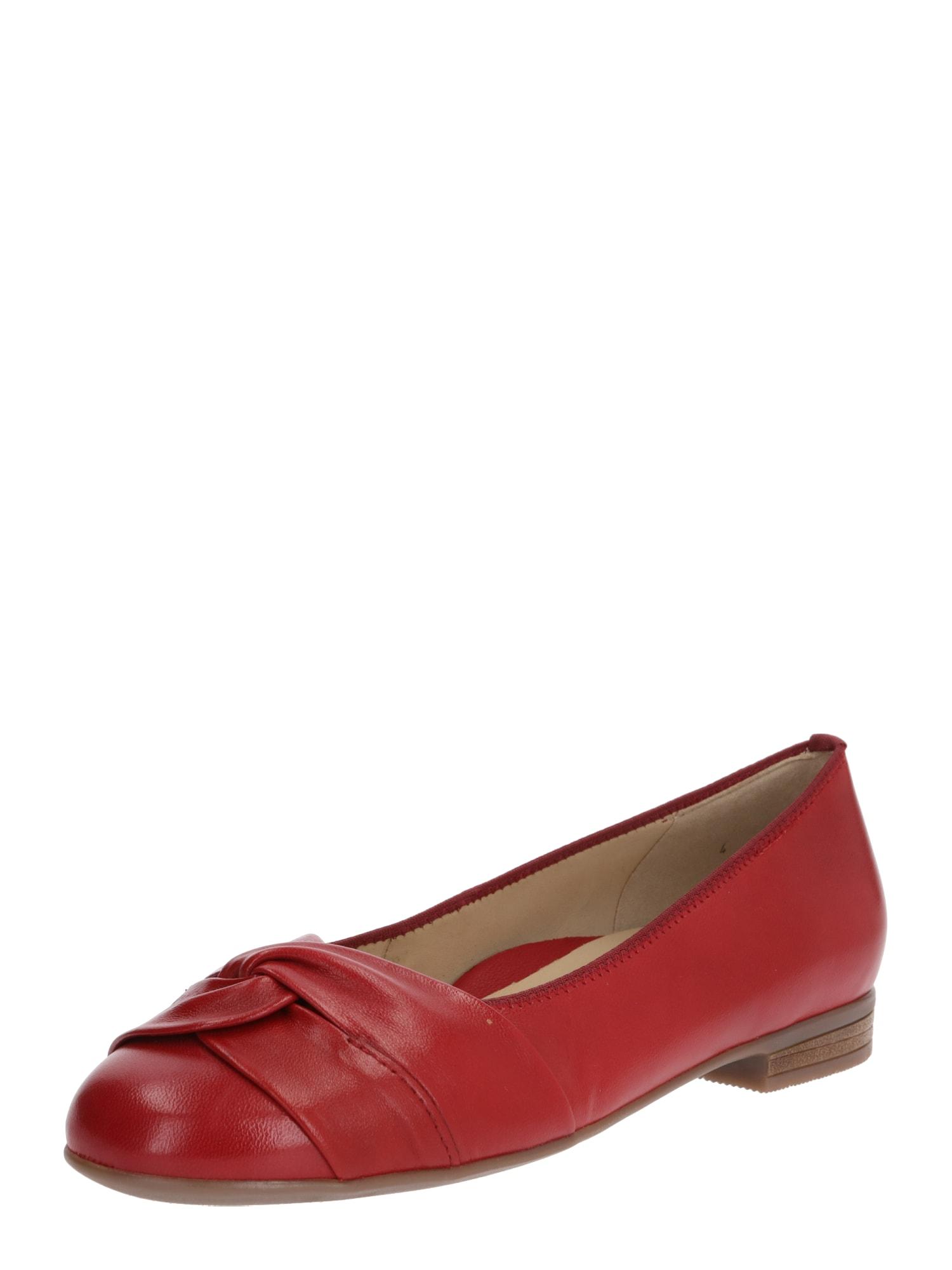 ARA Balerinos 'Glovekid' raudona