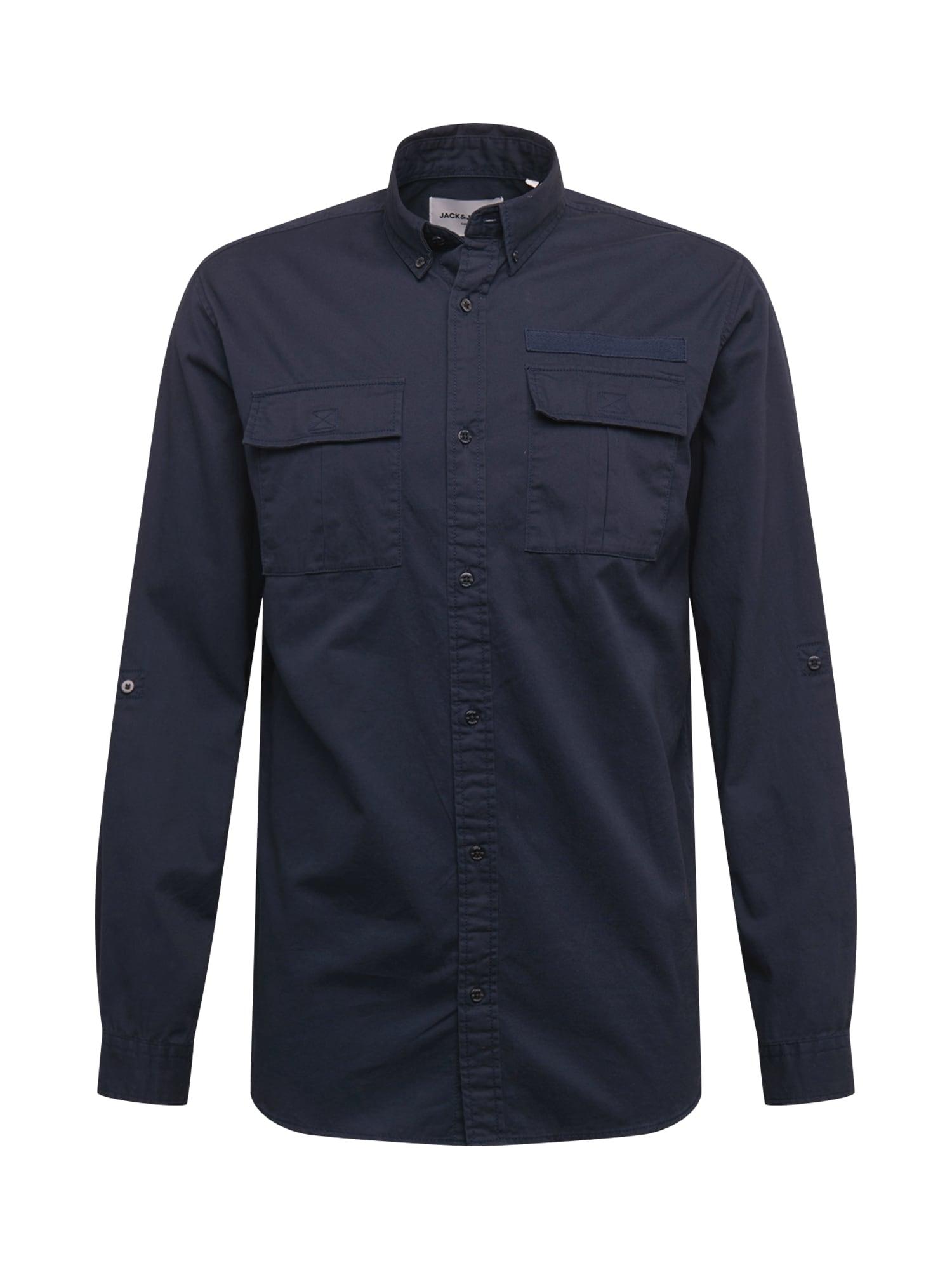 JACK & JONES Košile 'PORTER'  noční modrá