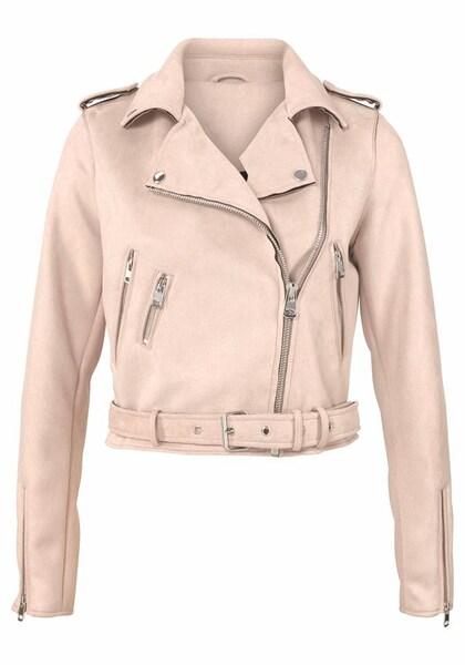 Jacken für Frauen - AJC Bikerjacke rosa  - Onlineshop ABOUT YOU