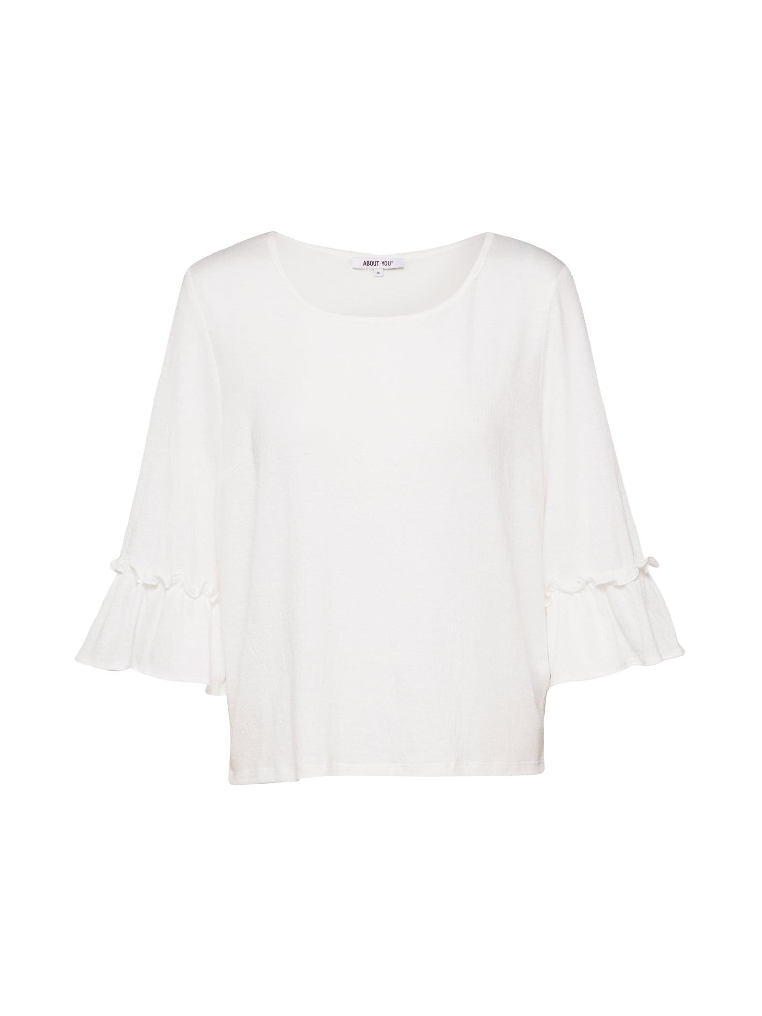 ABOUT YOU Marškinėliai 'Jessa Shirt' kremo