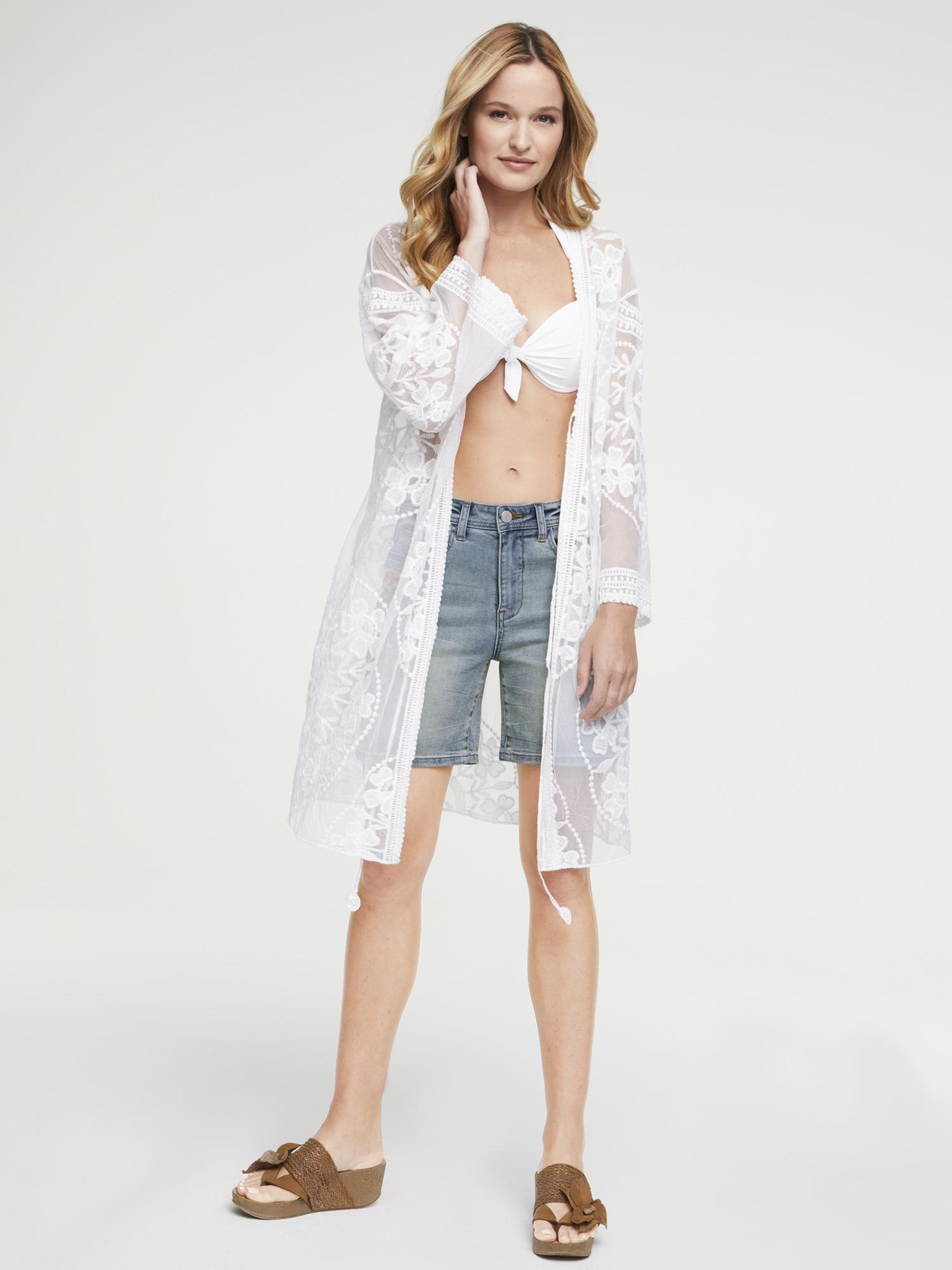 heine Kimono balta