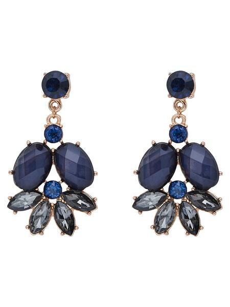 Ohrringe für Frauen - ONLY Ohrringe blau gold  - Onlineshop ABOUT YOU