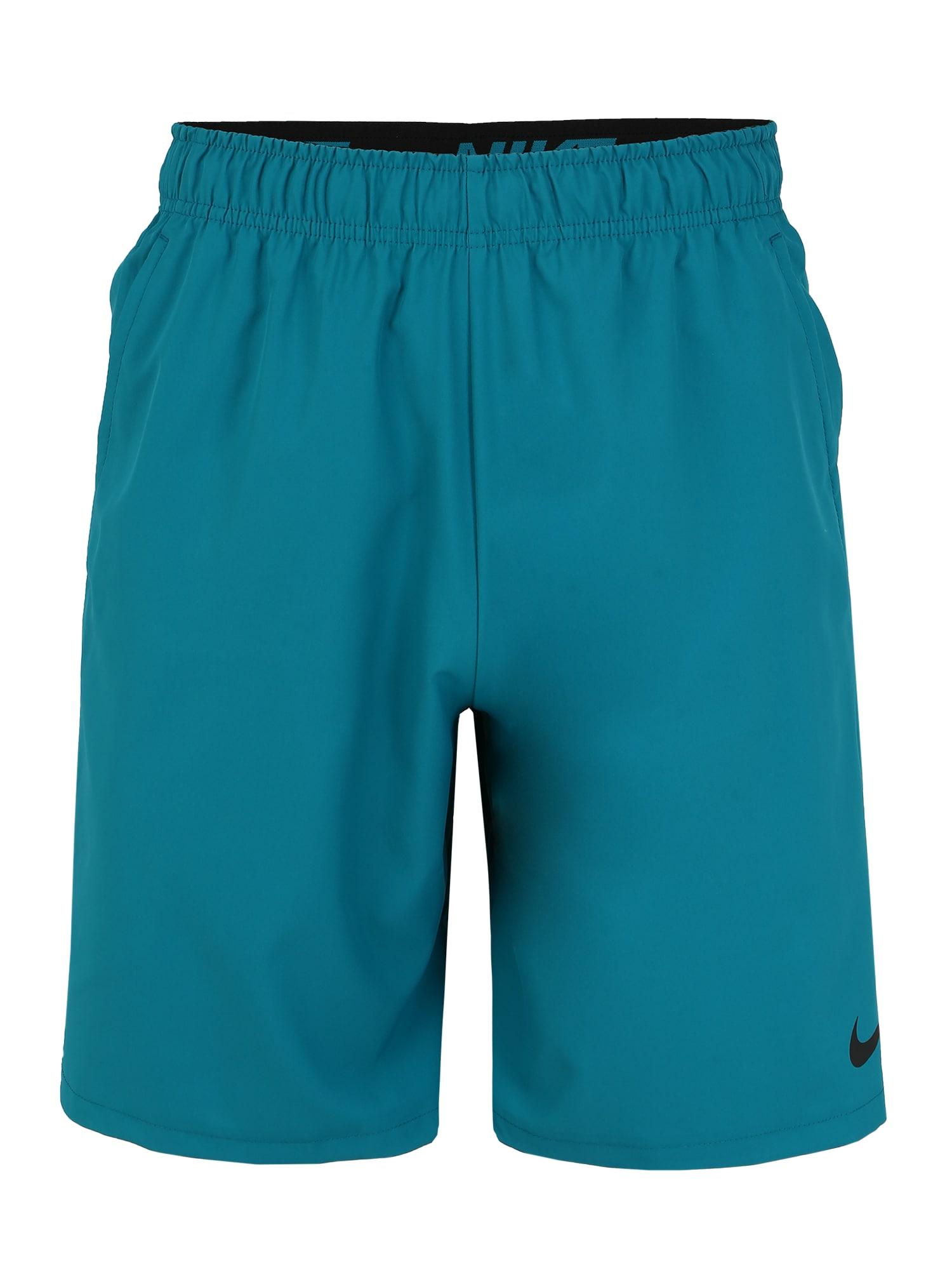 NIKE Športové nohavice 'Nike Flex'  modré