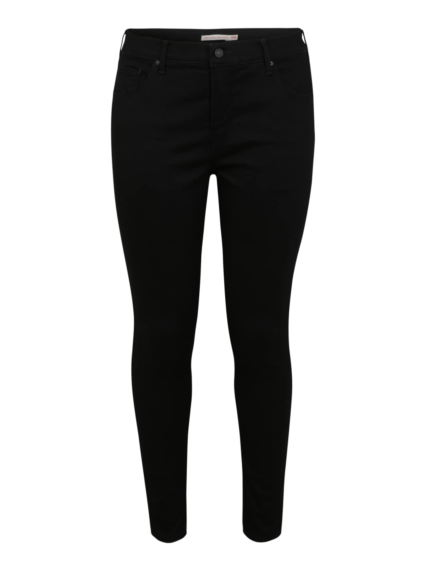 Levi's® Plus Džinsai '310™ PL SHAPING SUPER SKINNY' juodo džinso spalva
