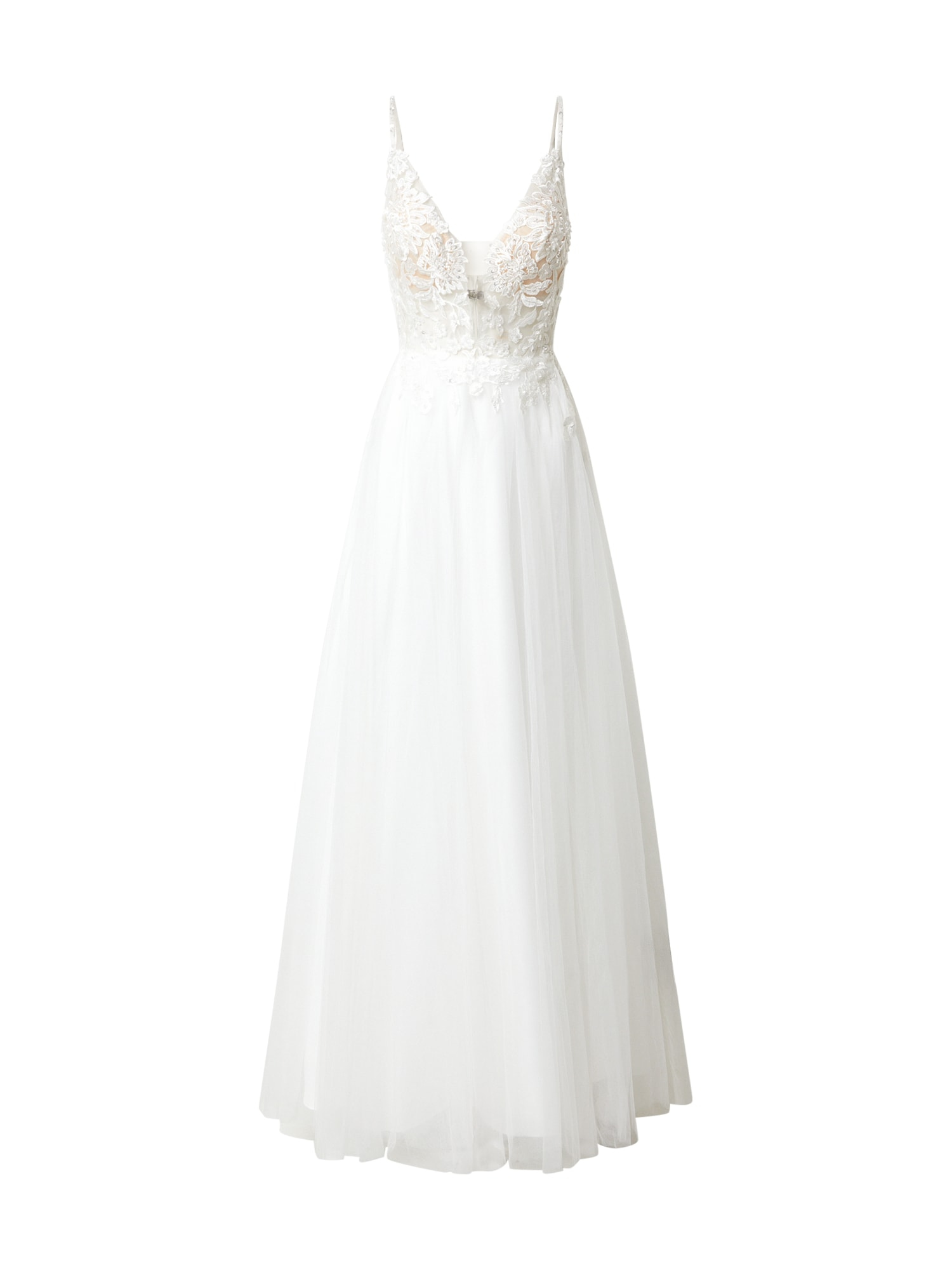 MAGIC BRIDE Společenské šaty  bílá