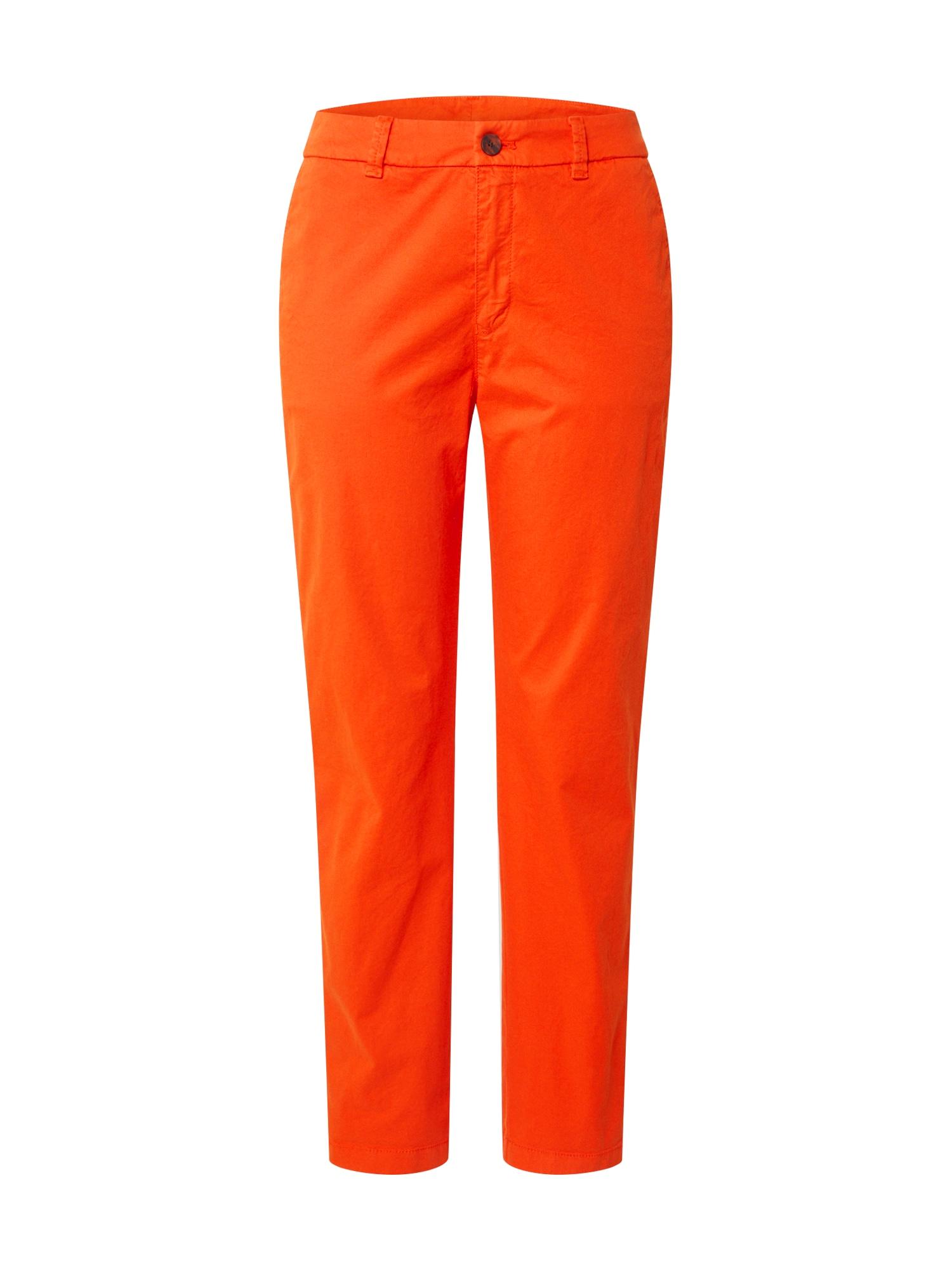 BOSS Chino stiliaus kelnės 'Sachini4-D' oranžinė