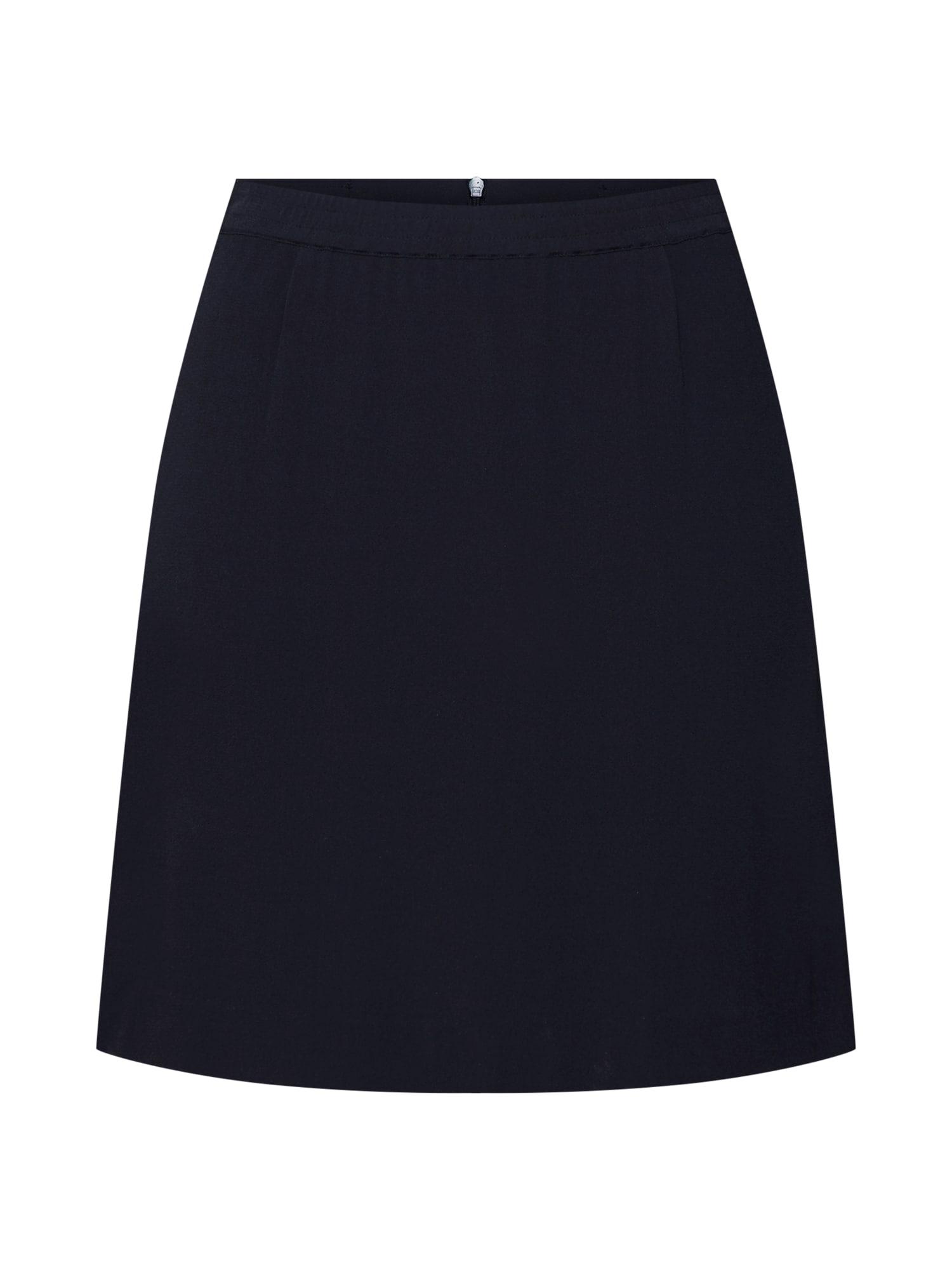Sukně Georgette Skirt černá Pop Copenhagen