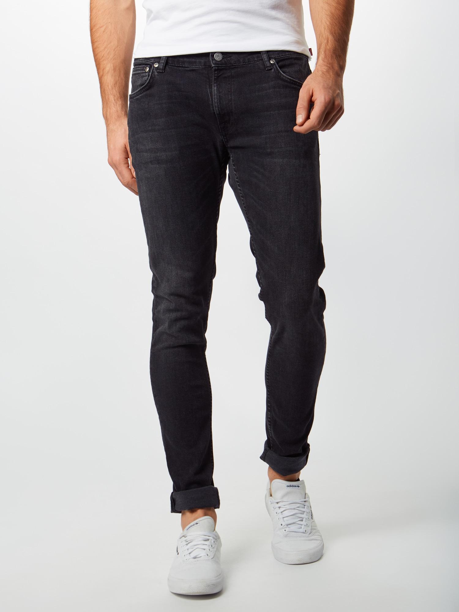 Nudie Jeans Co Jeans 'Skinny Lin'  svart denim