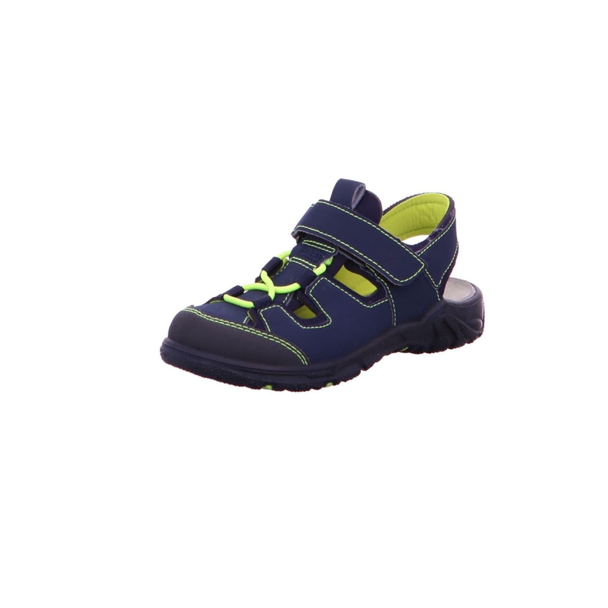 Otevřená obuv Gerald námořnická modř svítivě zelená RICOSTA