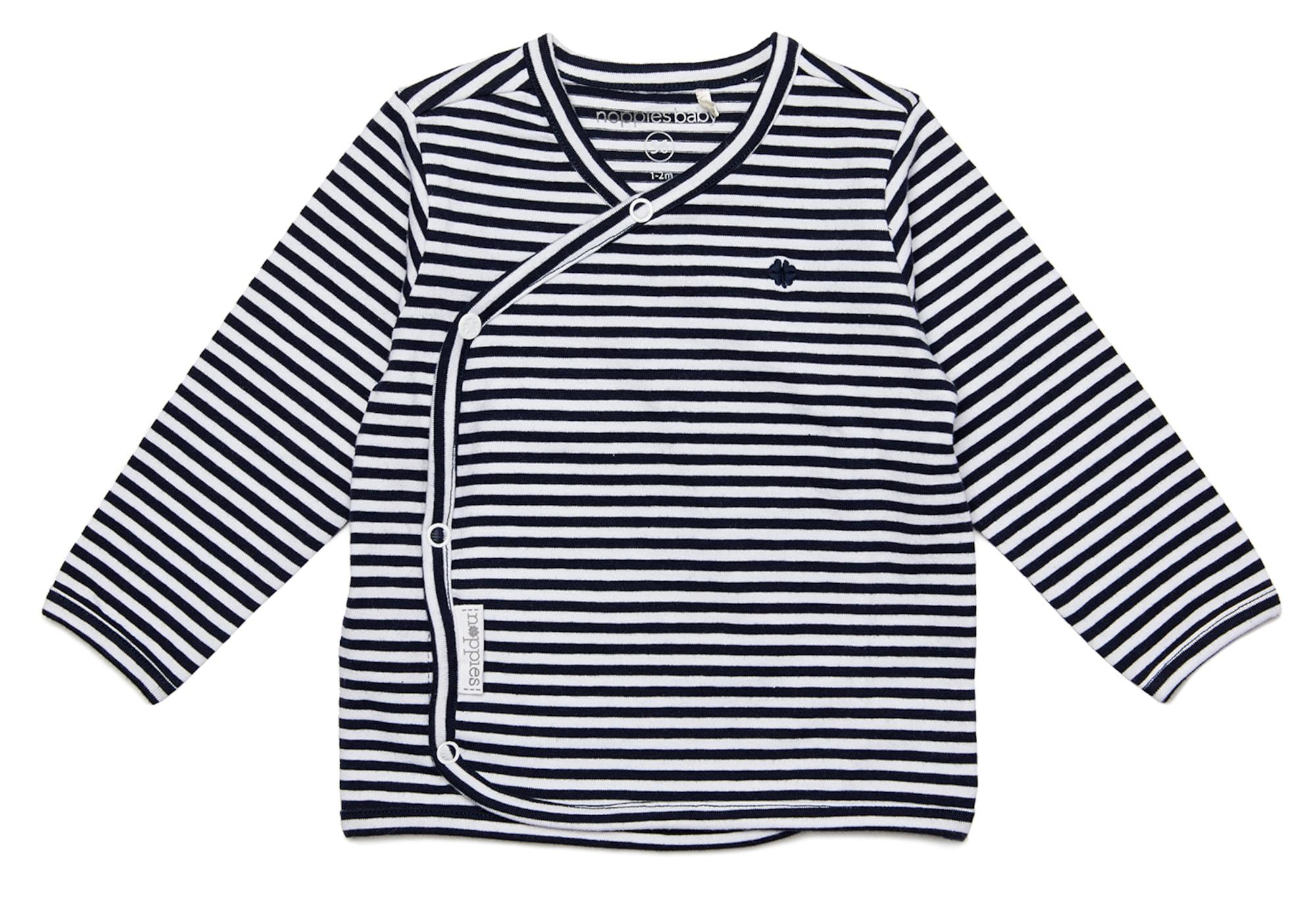 Noppies Marškinėliai 'Soly' balta / nakties mėlyna