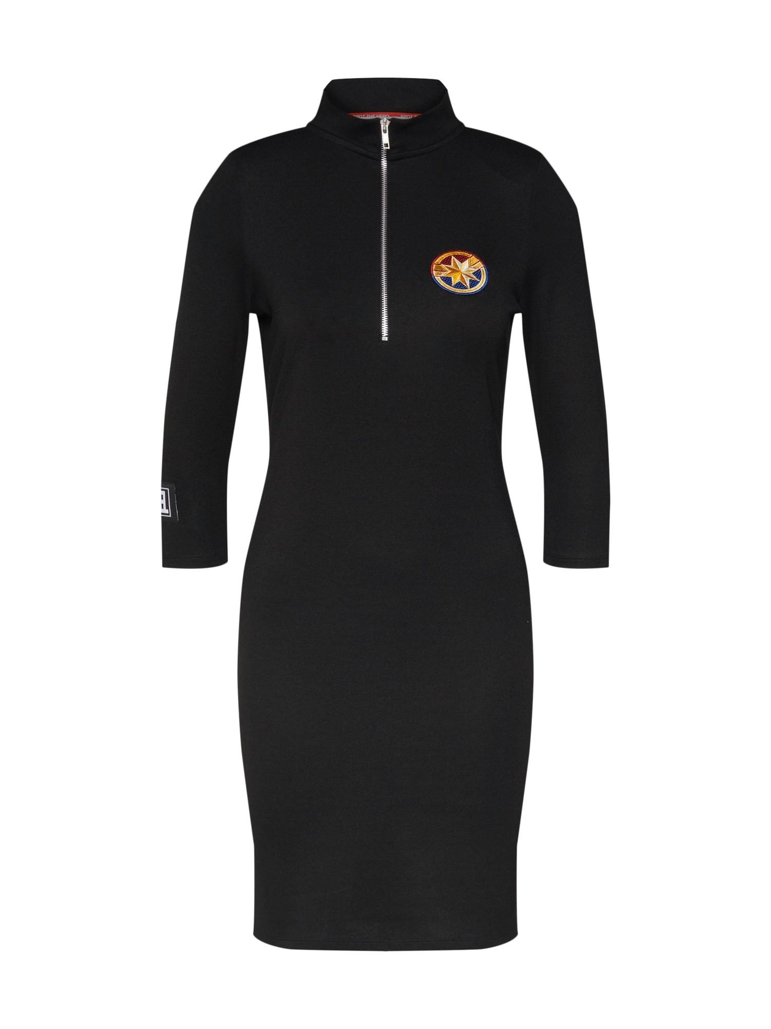 Šaty Kiana černá MARVEL X ABOUT YOU