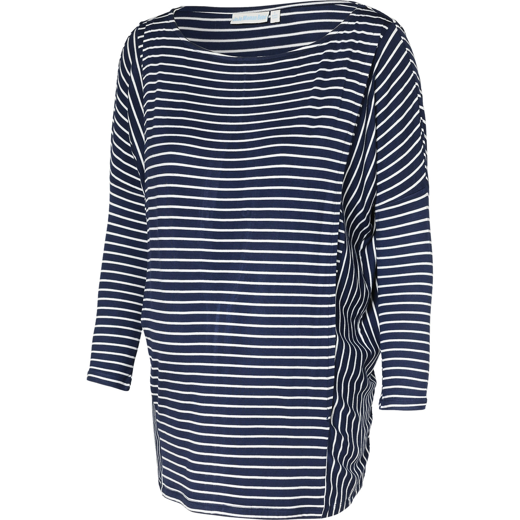 JoJo Maman Bébé Marškinėliai mėlyna / balta