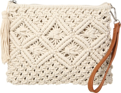 BUFFALO Gewebte Clutch in Seil-Optik
