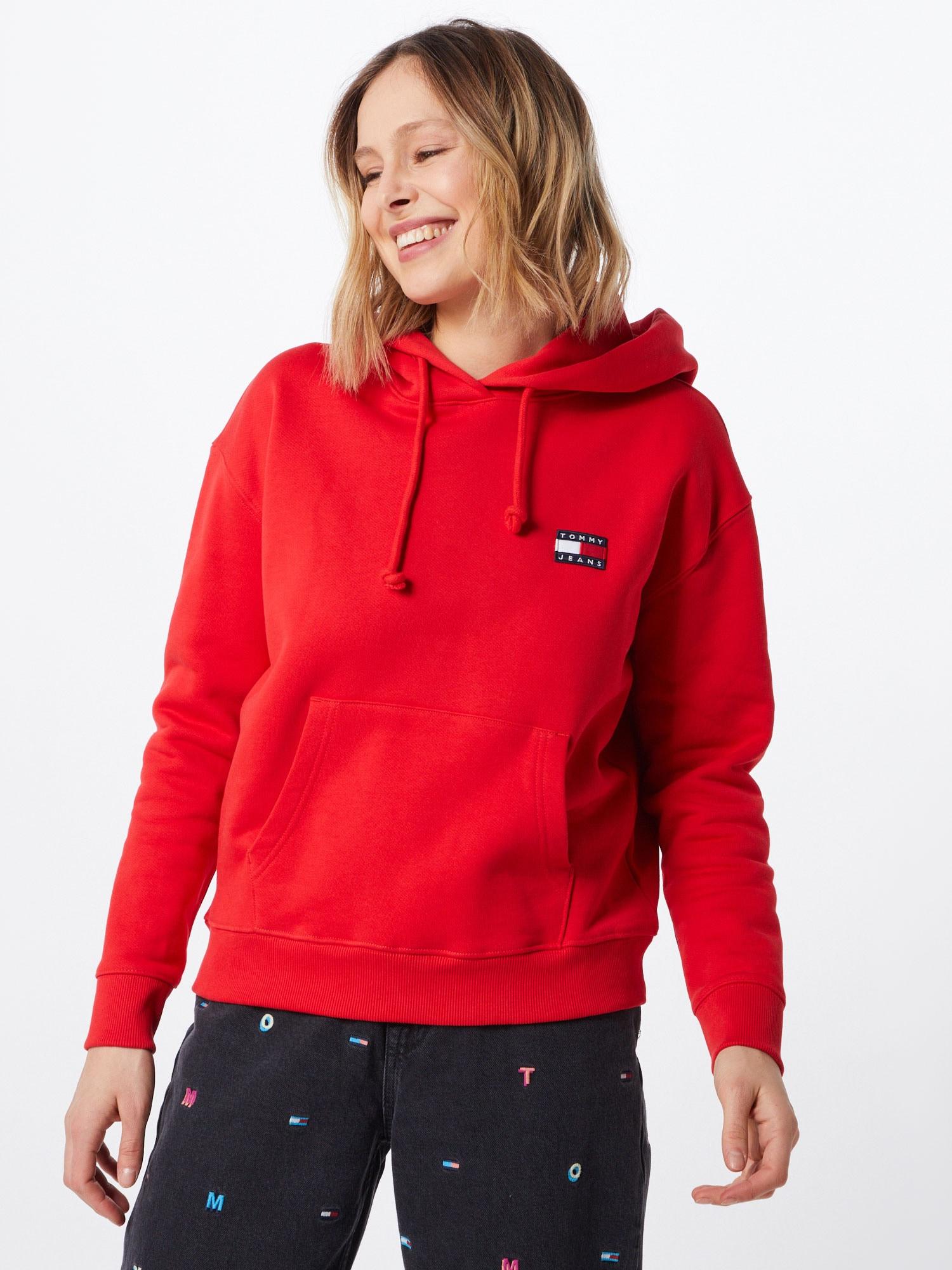Tommy Jeans Sweatshirt  röd