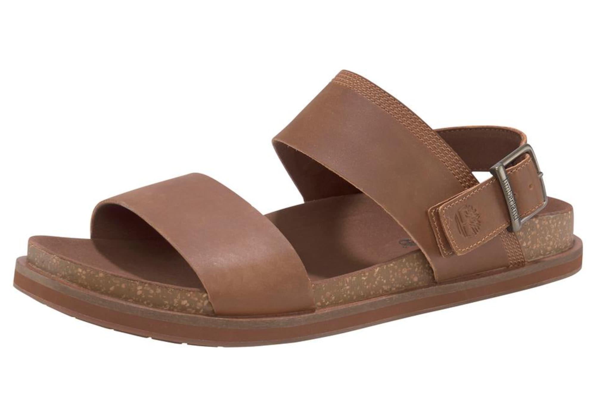 TIMBERLAND Sandále  hnedé
