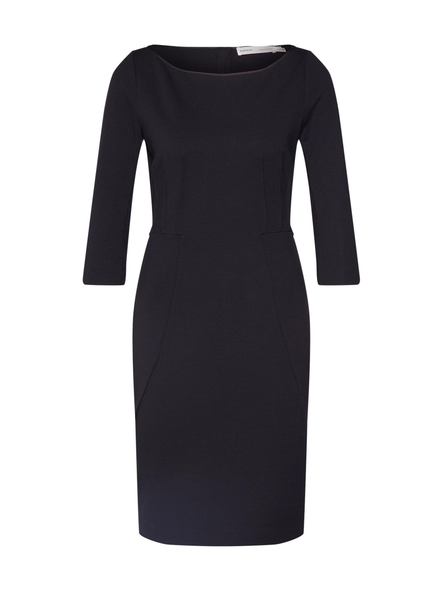 InWear Suknelė juoda