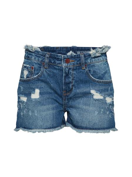 Hosen für Frauen - Slimfit Shorts › Funky Buddha › blue denim  - Onlineshop ABOUT YOU
