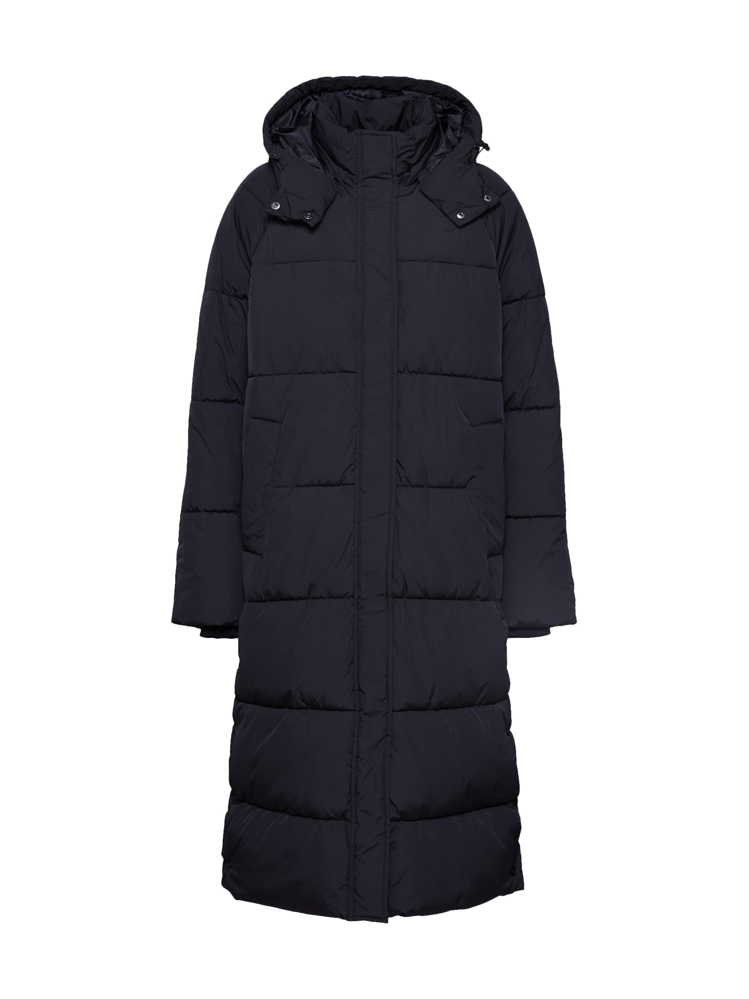 mbym Žieminis paltas 'Ela Slit' juoda