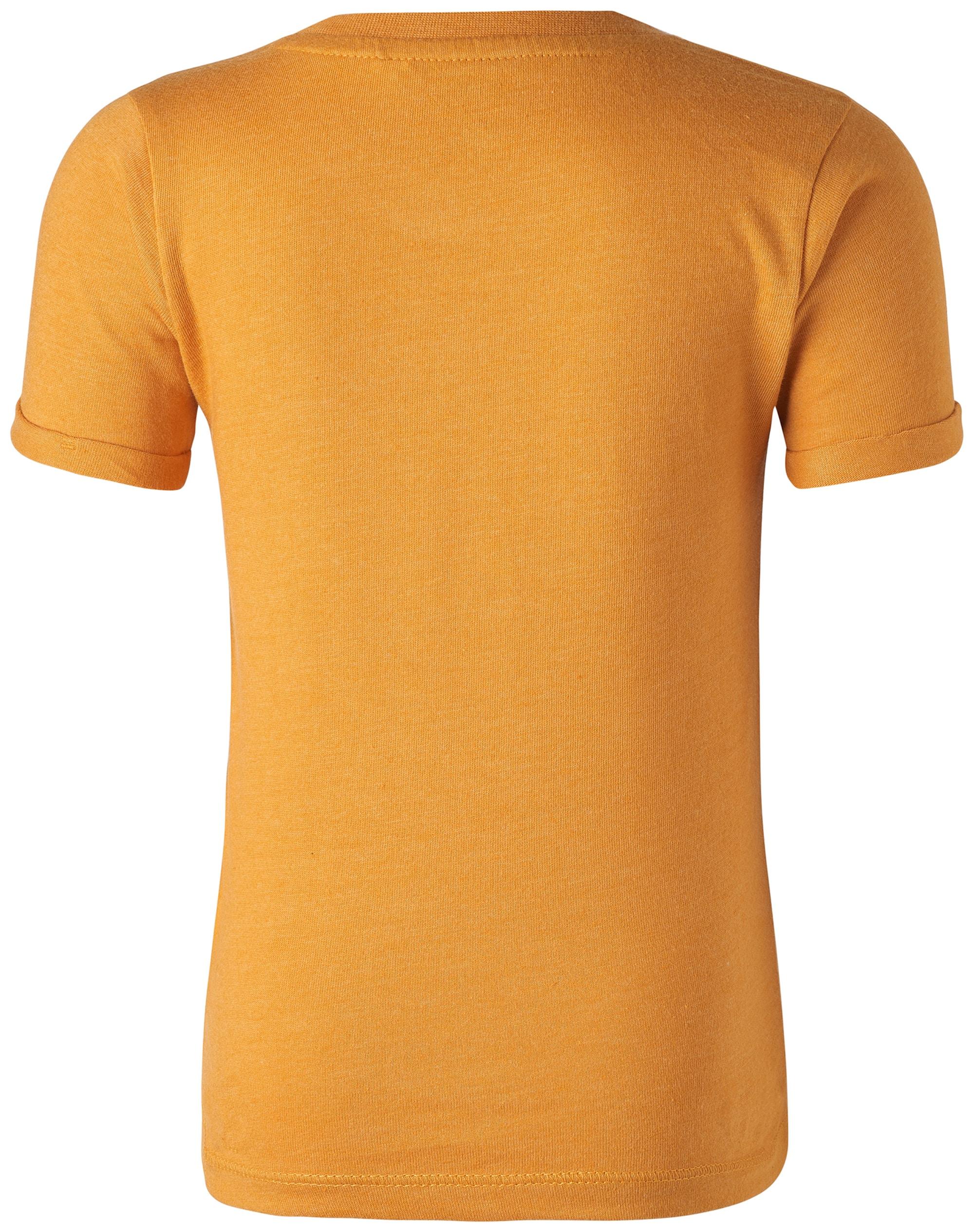 Noppies, Jongens Shirt Lassy, geel / grijs / wit
