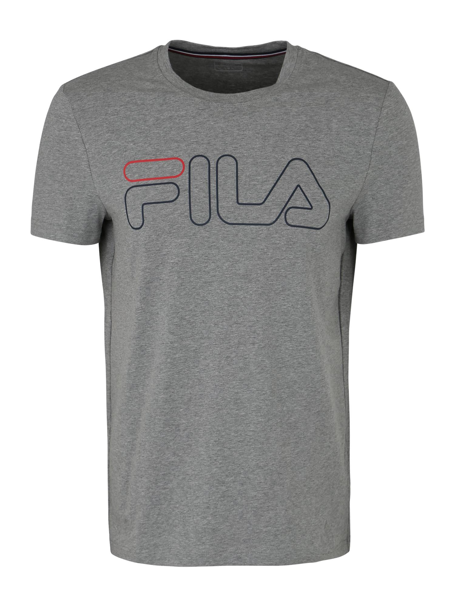 FILA Sportiniai marškinėliai 'Ricki' pilka