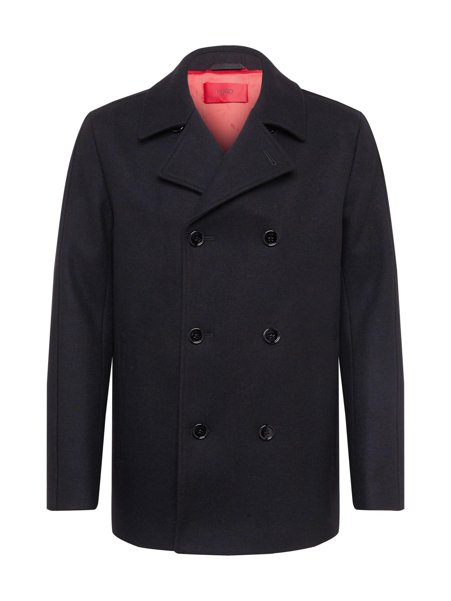 HUGO Rudeninis-žieminis paltas 'Balno' juoda