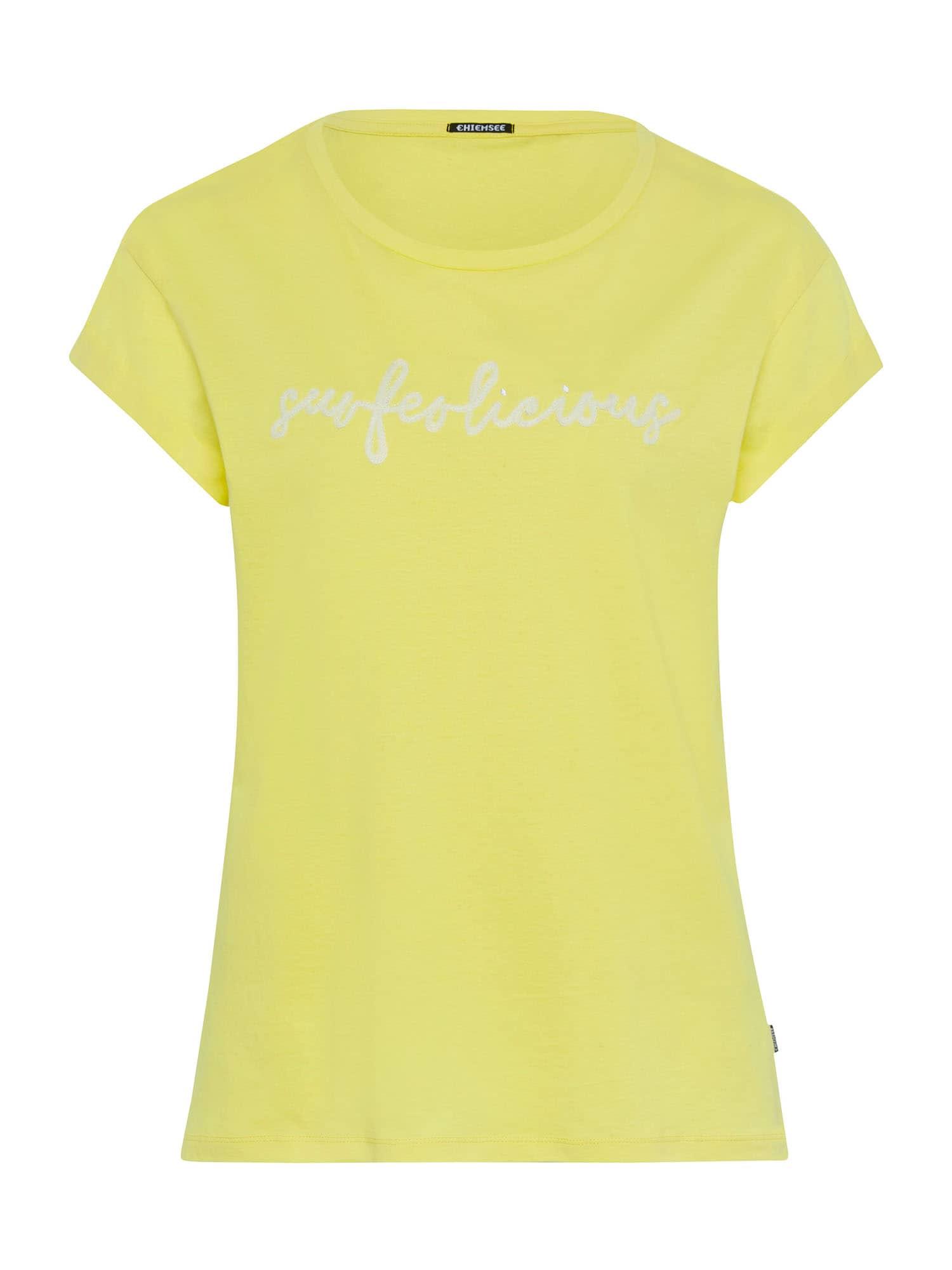 CHIEMSEE Sportiniai marškinėliai šviesiai žalia