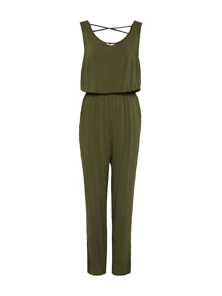 Hosen für Frauen - TOM TAILOR DENIM Jumpsuit oliv  - Onlineshop ABOUT YOU