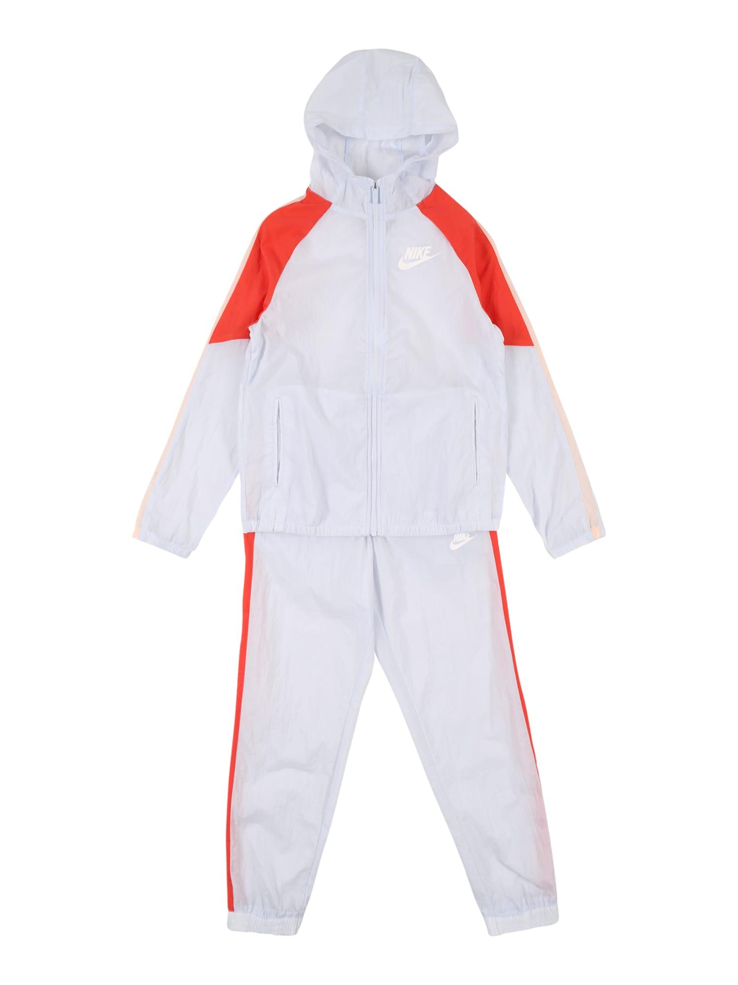Nike Sportswear Kostiumas balta / raudona