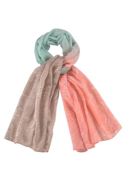 Schals für Frauen - J. Jayz Modeschal hellbeige jade koralle  - Onlineshop ABOUT YOU