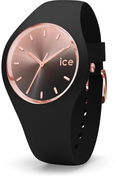 Uhren für Frauen - ICE WATCH Uhr '015748' rosé schwarz  - Onlineshop ABOUT YOU