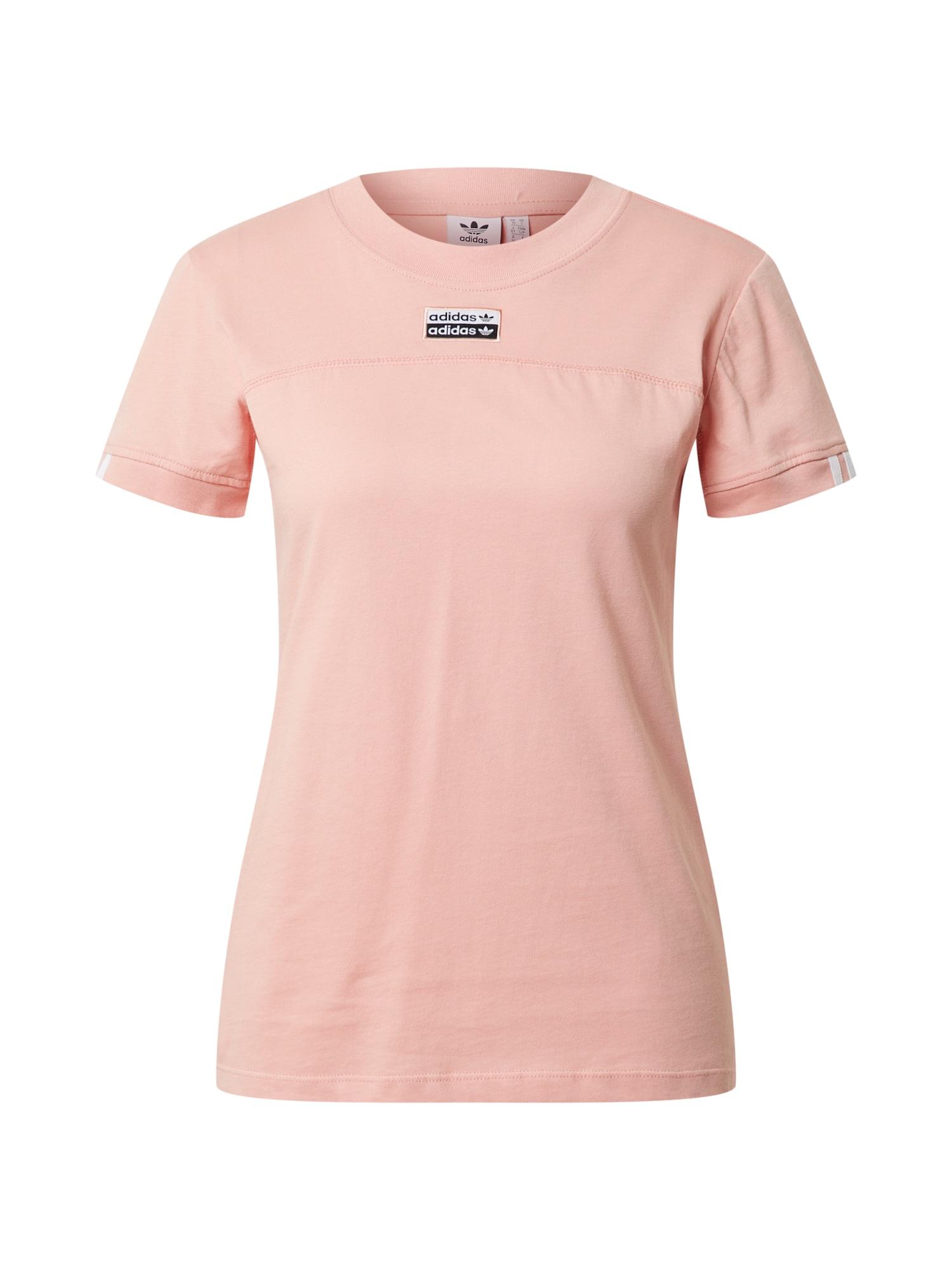 ADIDAS ORIGINALS Marškinėliai šviesiai rožinė