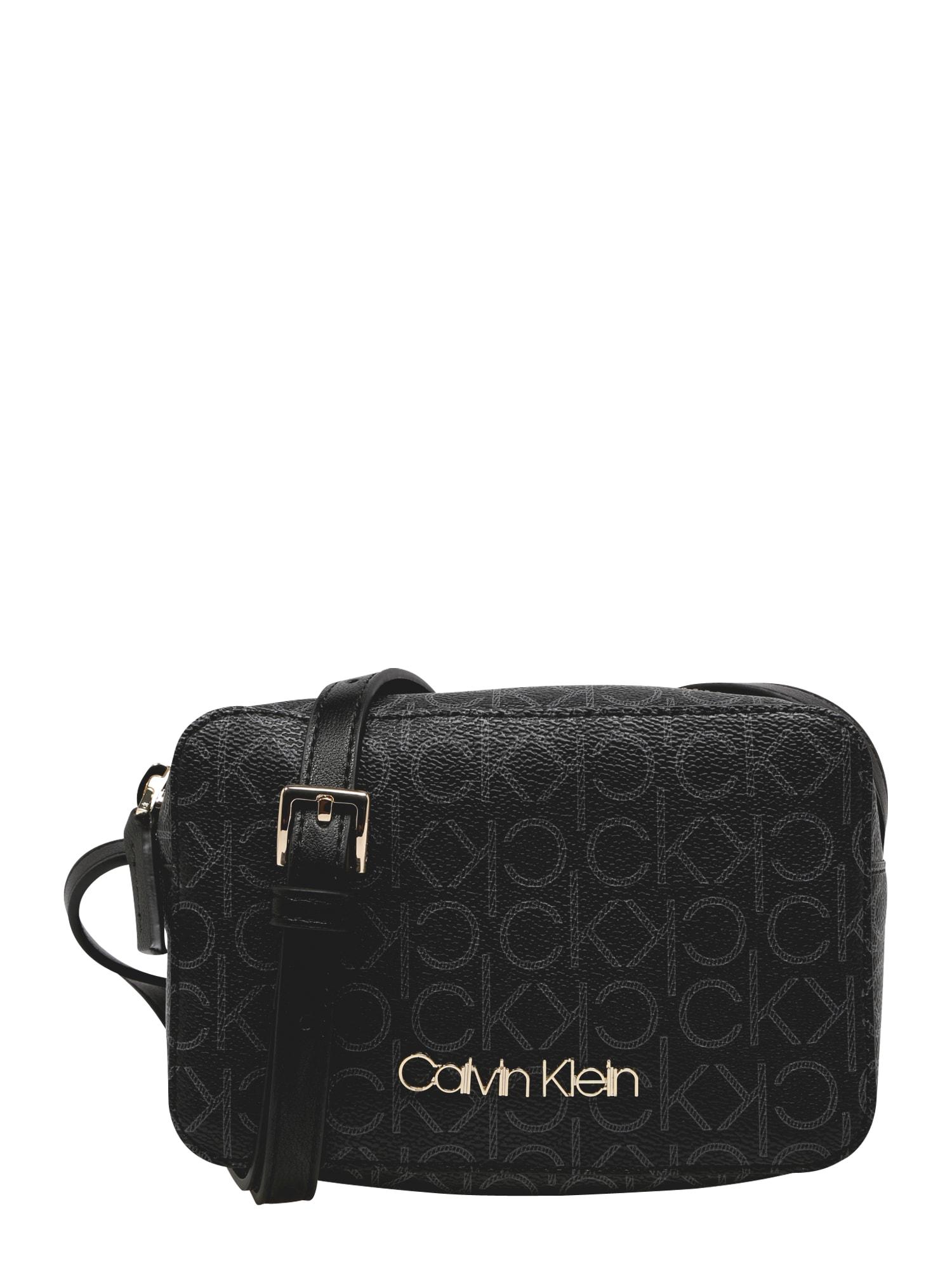 Calvin Klein Taška cez rameno 'Camerabag Mono'  čierna