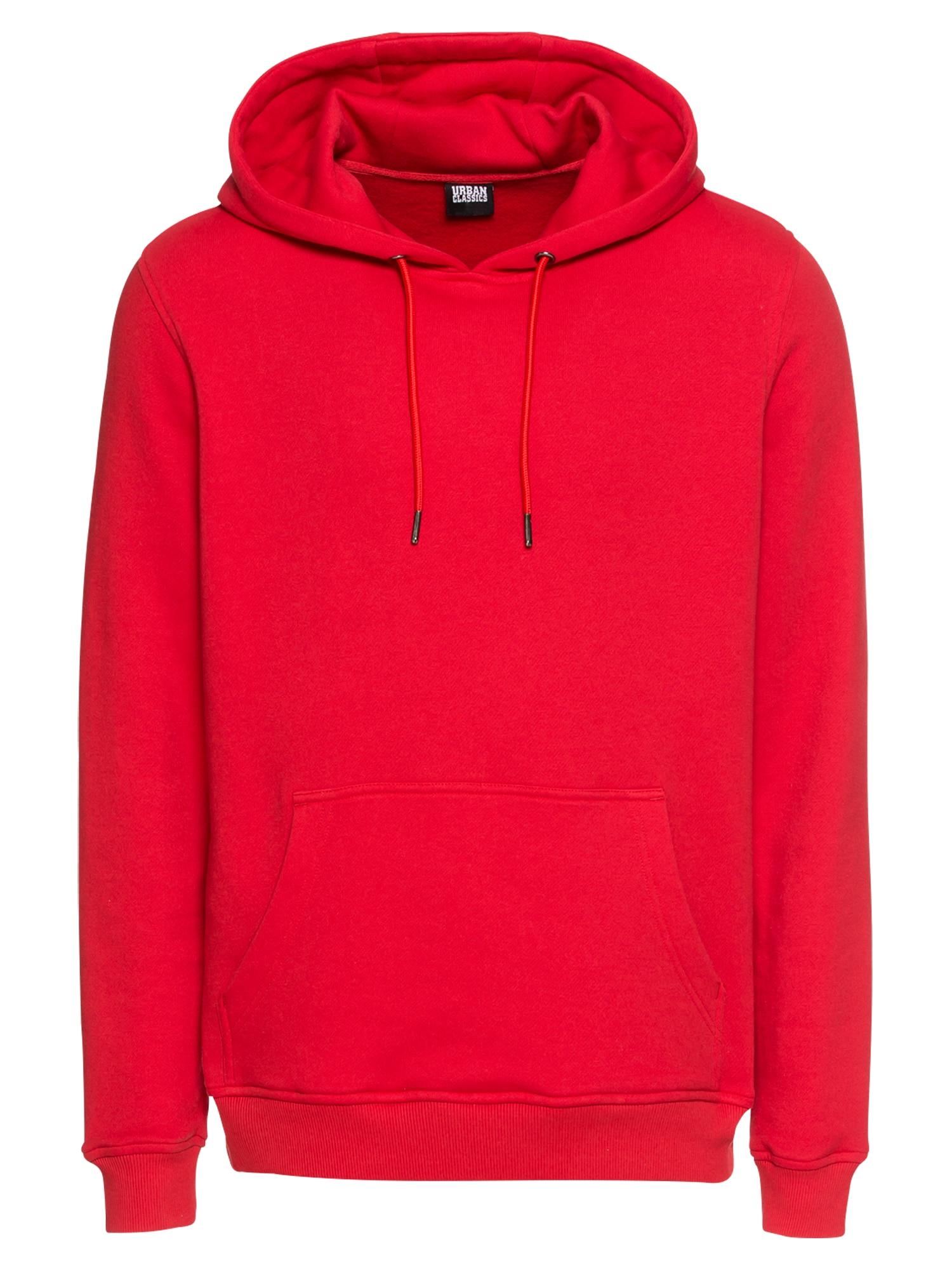 Urban Classics Bluză de molton  roși aprins