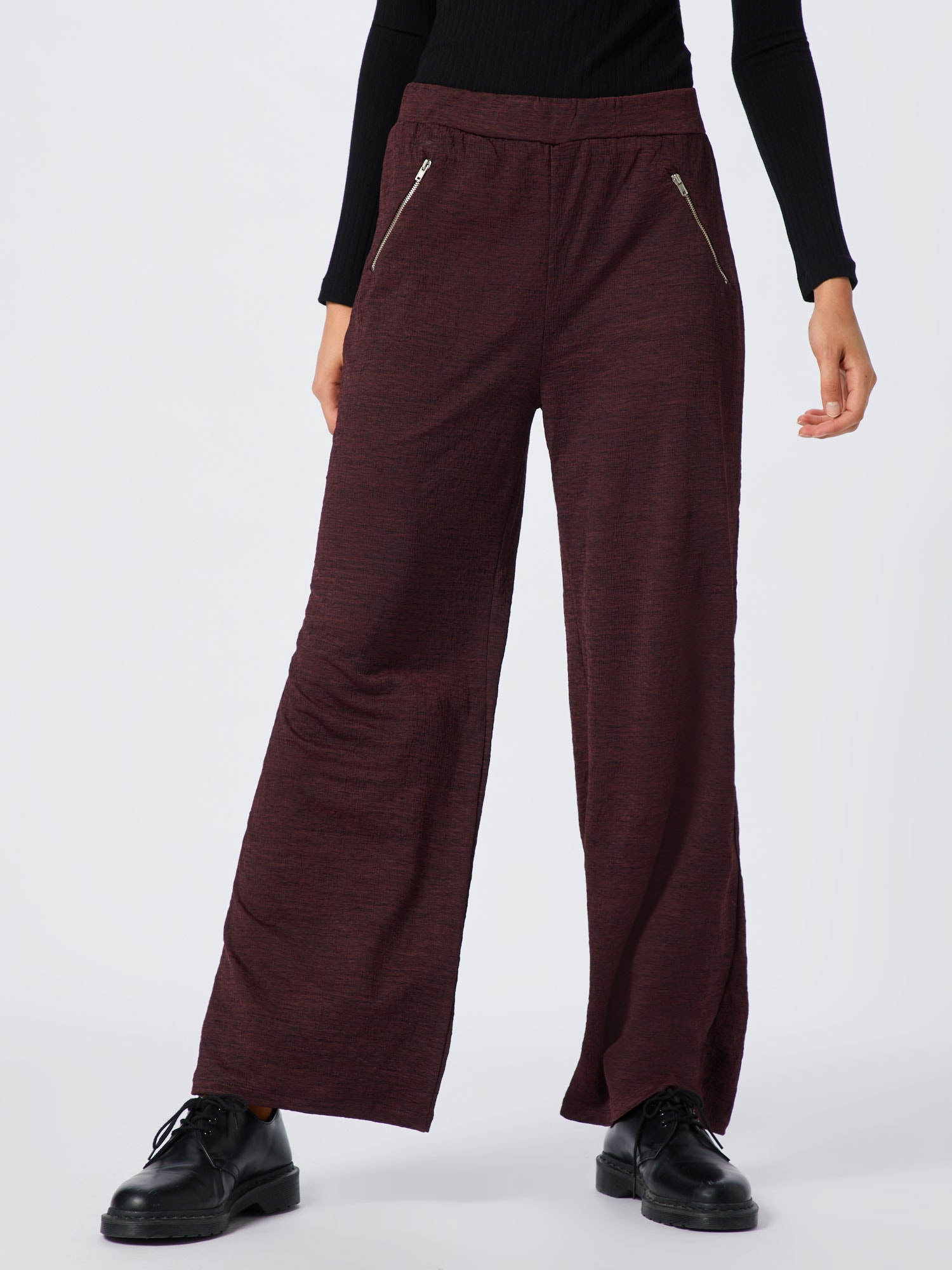 ABOUT YOU Byxa 'Maxie Trousers'  bordeaux