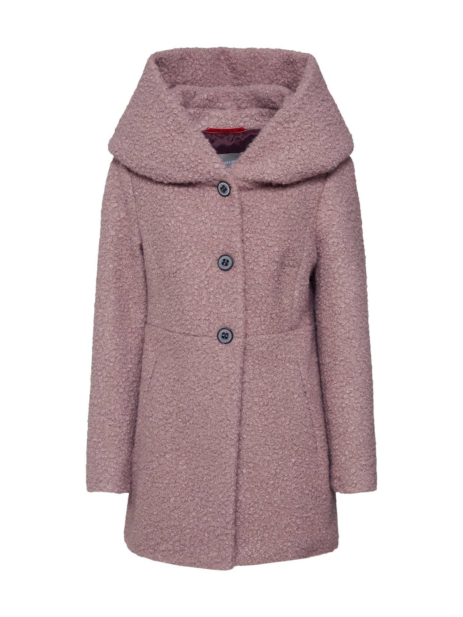 Amber & June Žieminis paltas ruda