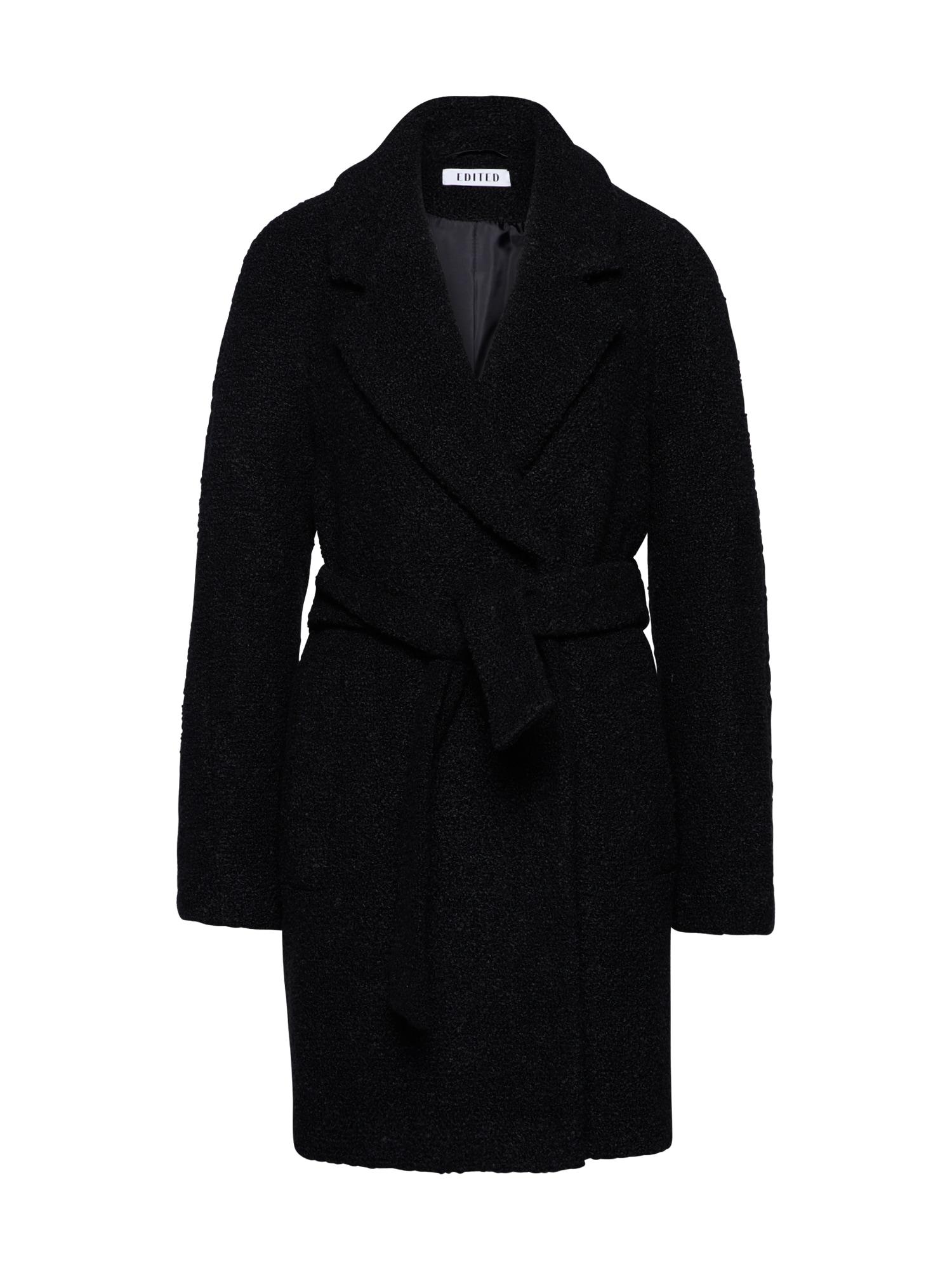 Zimní kabát Georgia černá EDITED