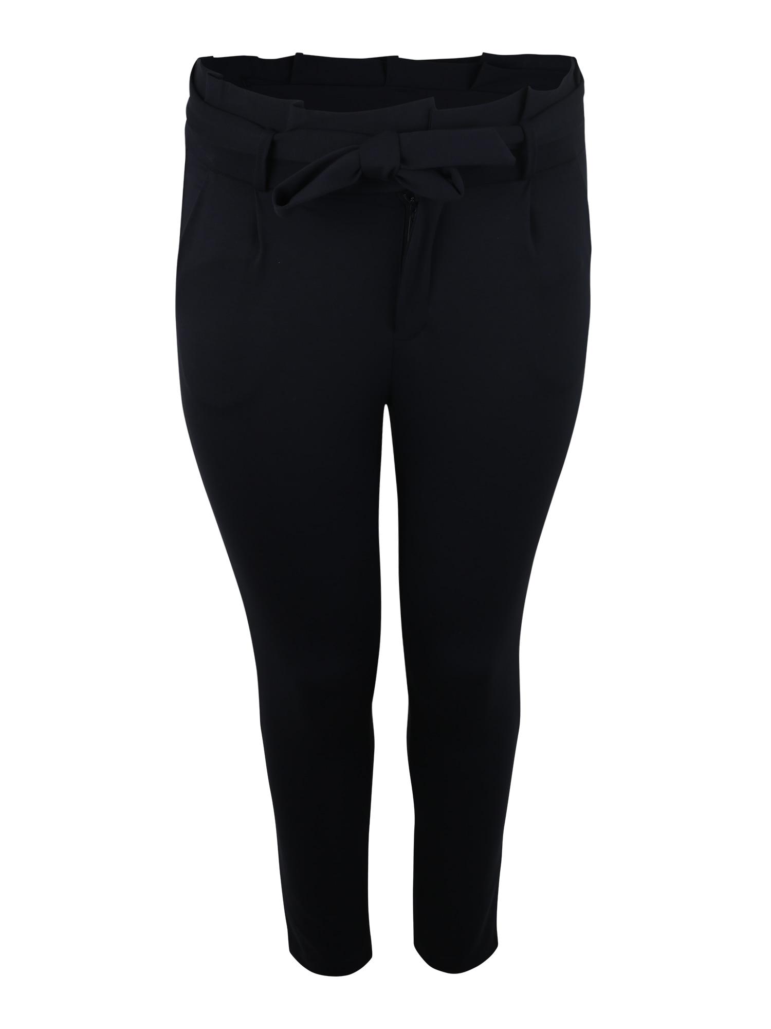 Kalhoty VMEVA noční modrá Vero Moda Curve