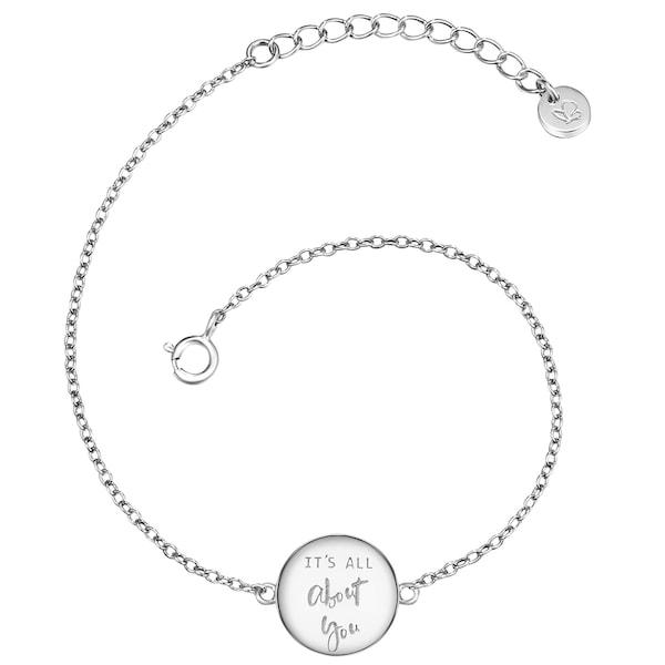 Armbaender für Frauen - Glanzstücke München Silberarmband silber  - Onlineshop ABOUT YOU