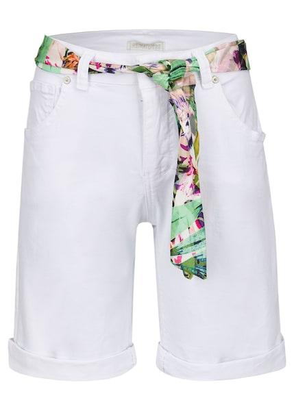 Hosen für Frauen - Shorts › Heimatliebe › mischfarben weiß  - Onlineshop ABOUT YOU