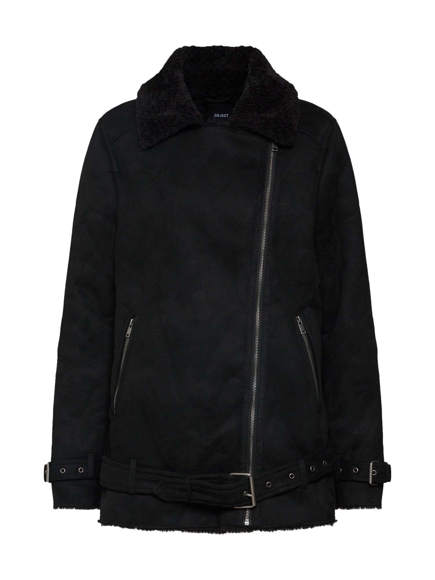 Přechodná bunda OBJLITT černá OBJECT