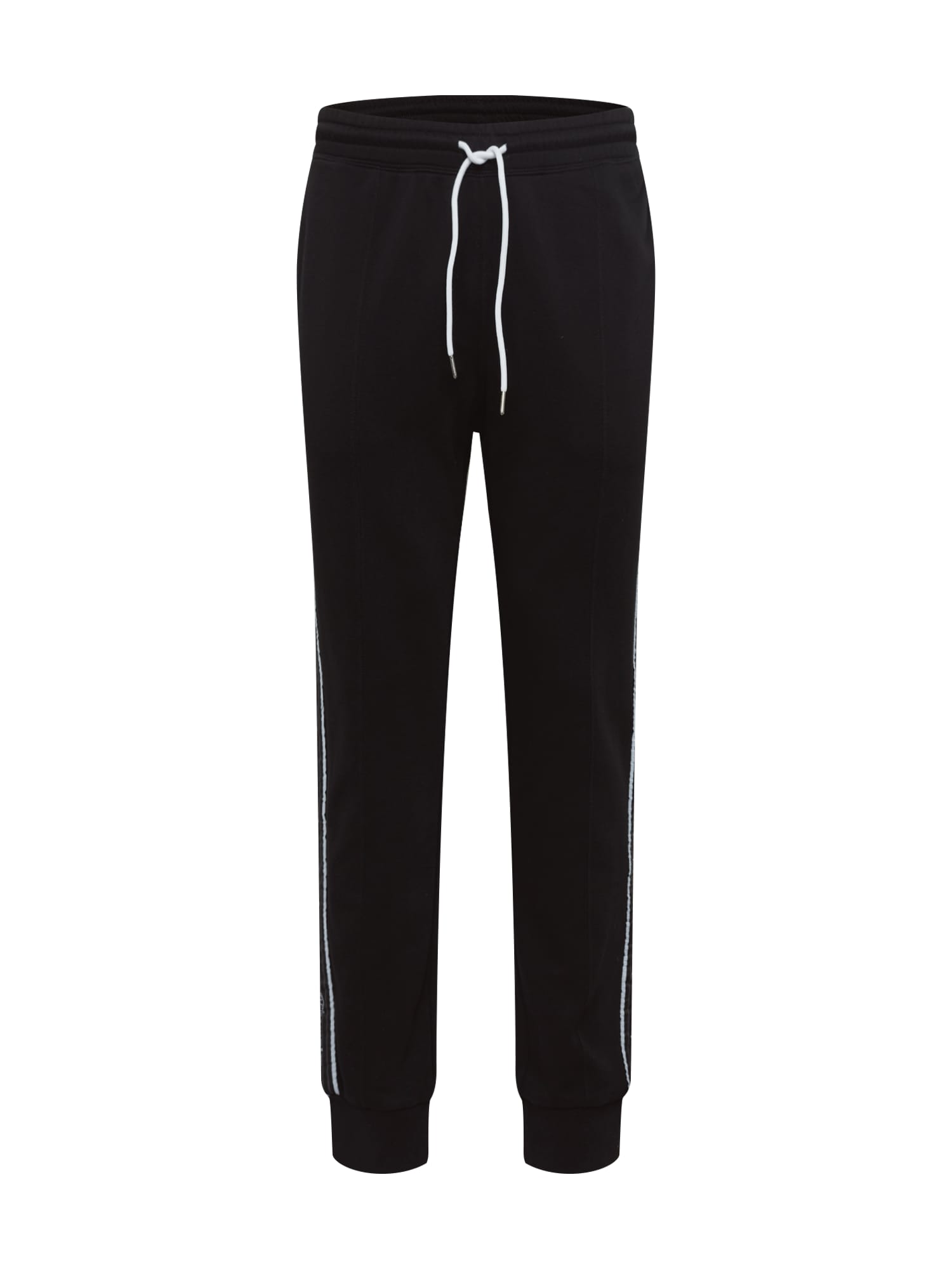 Champion Authentic Athletic Apparel Kelnės juoda / balta