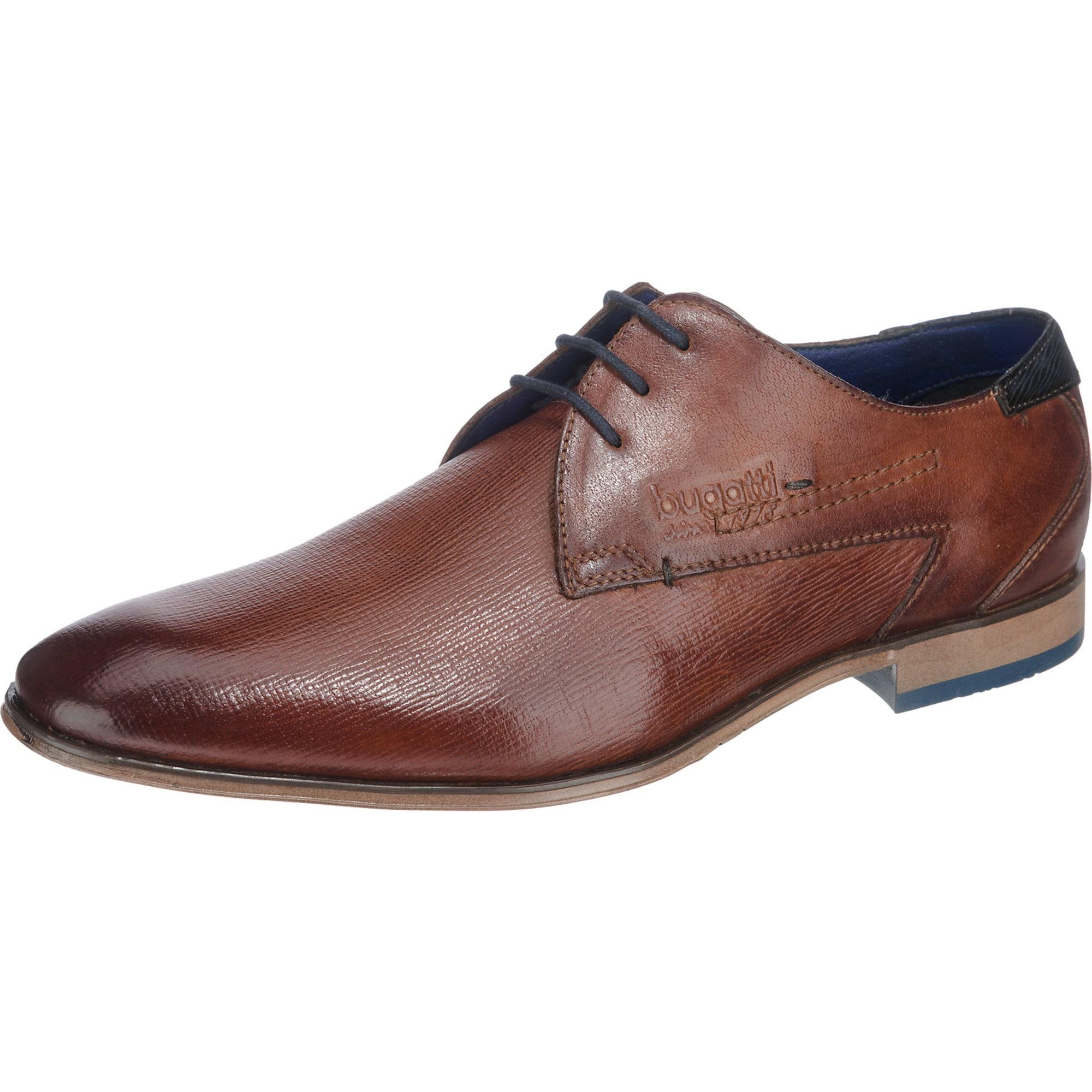 bugatti Šnurovacie topánky  hnedé