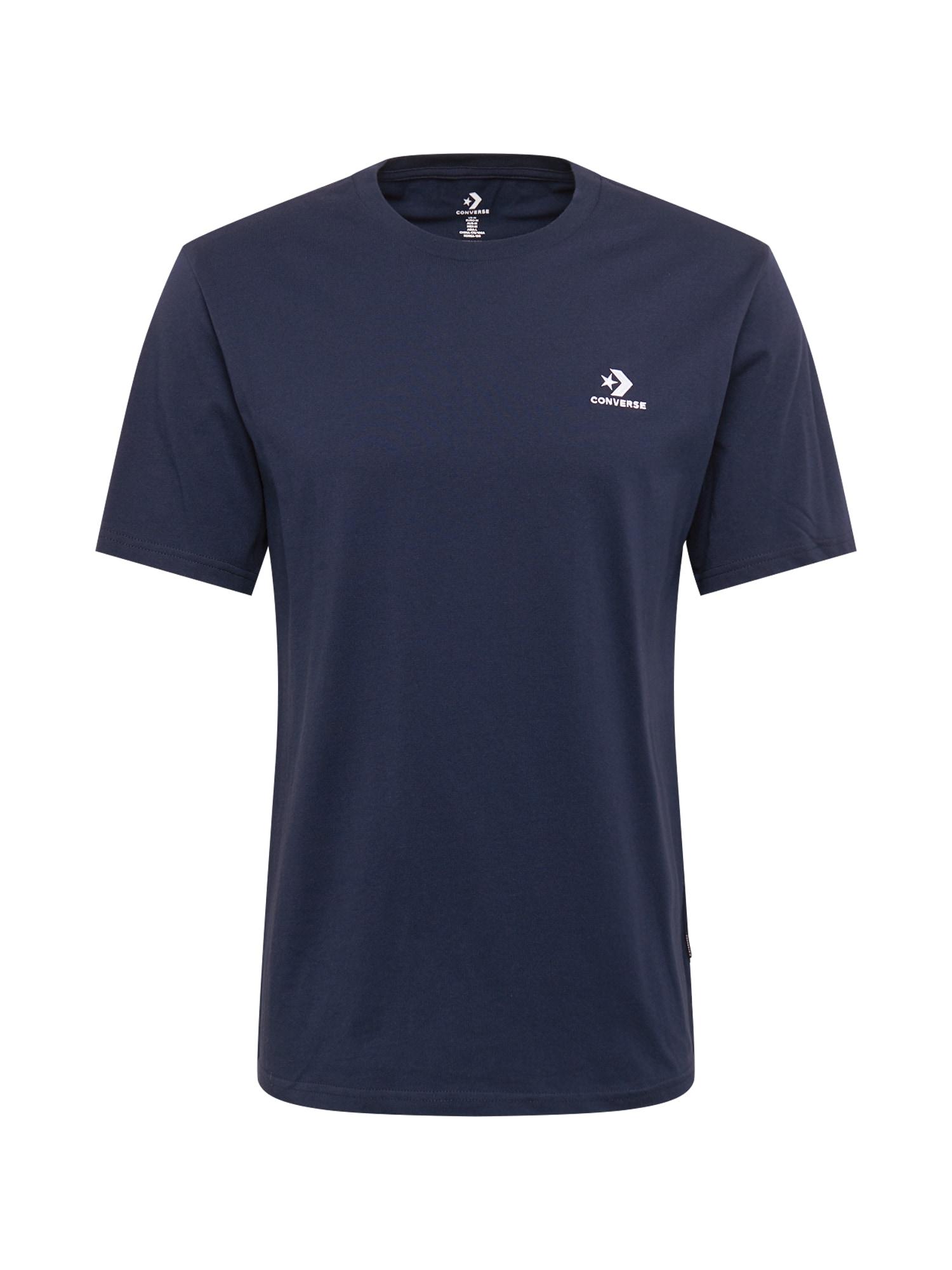 CONVERSE Marškinėliai tamsiai mėlyna