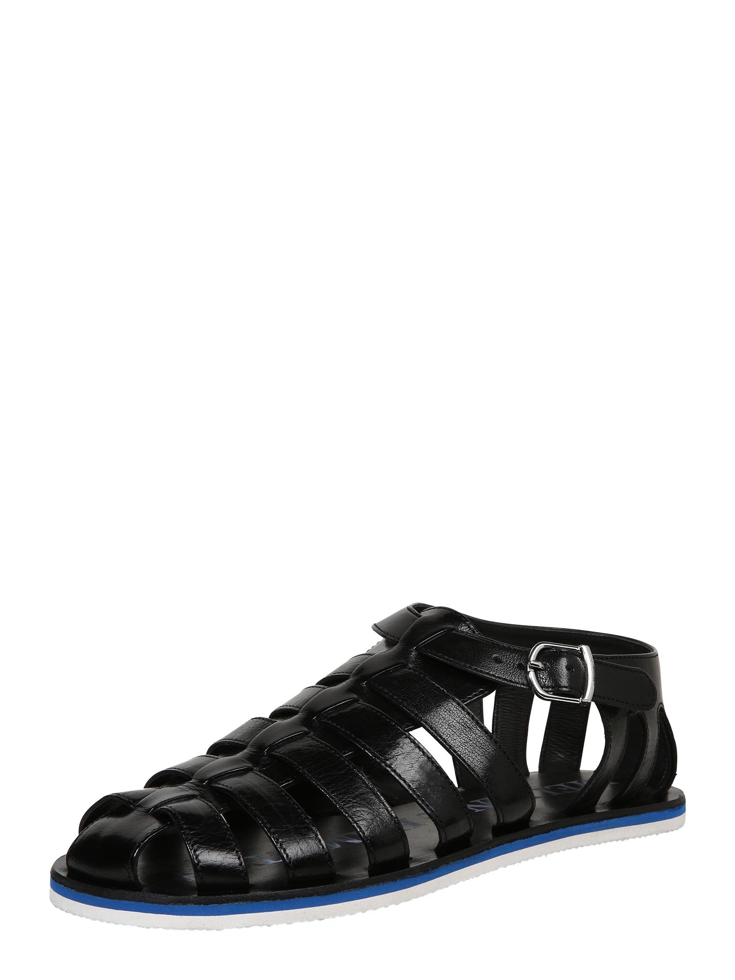 MELVIN & HAMILTON Sandále  čierna
