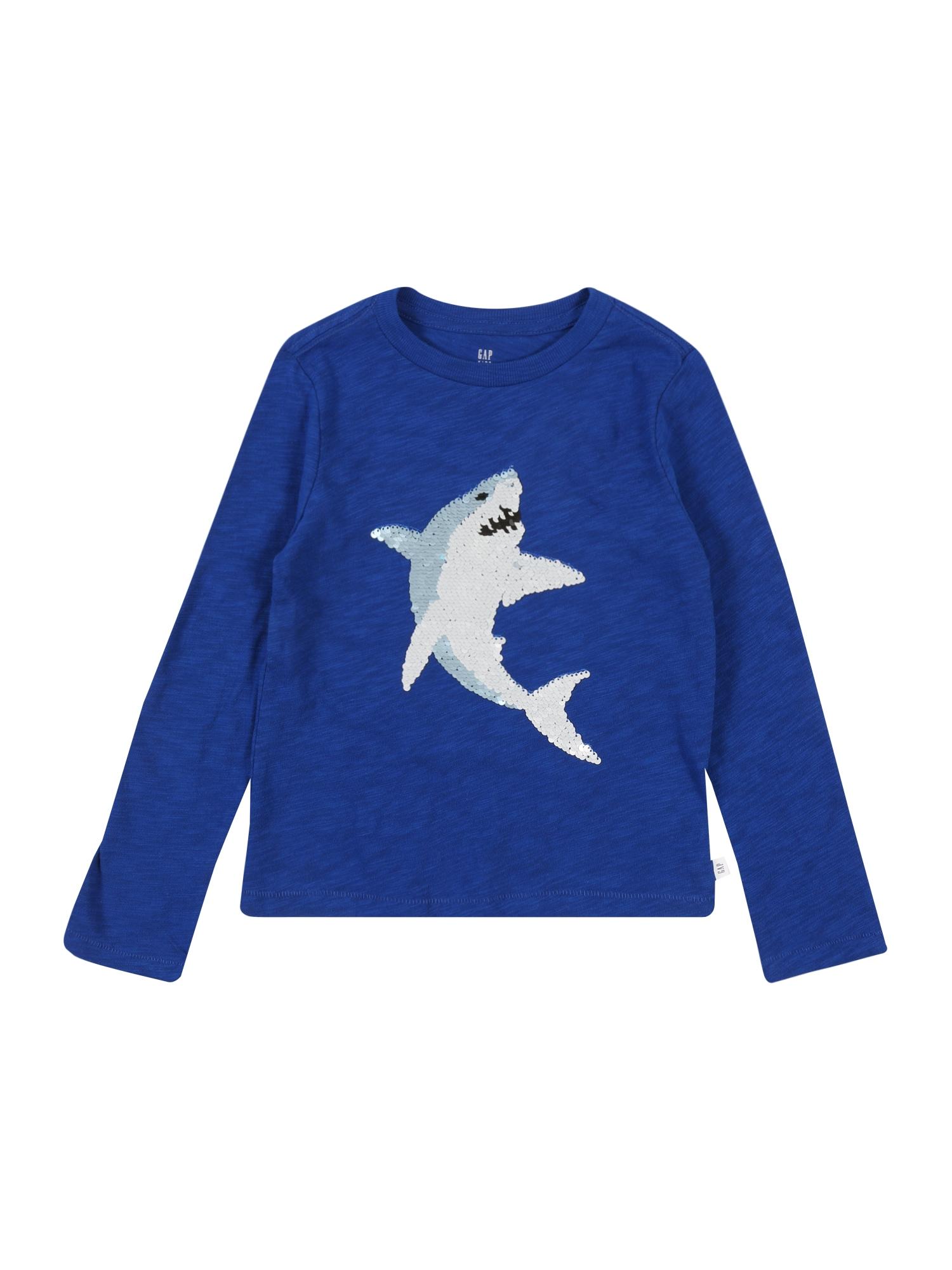 GAP Marškinėliai 'FLIPPY' mėlyna