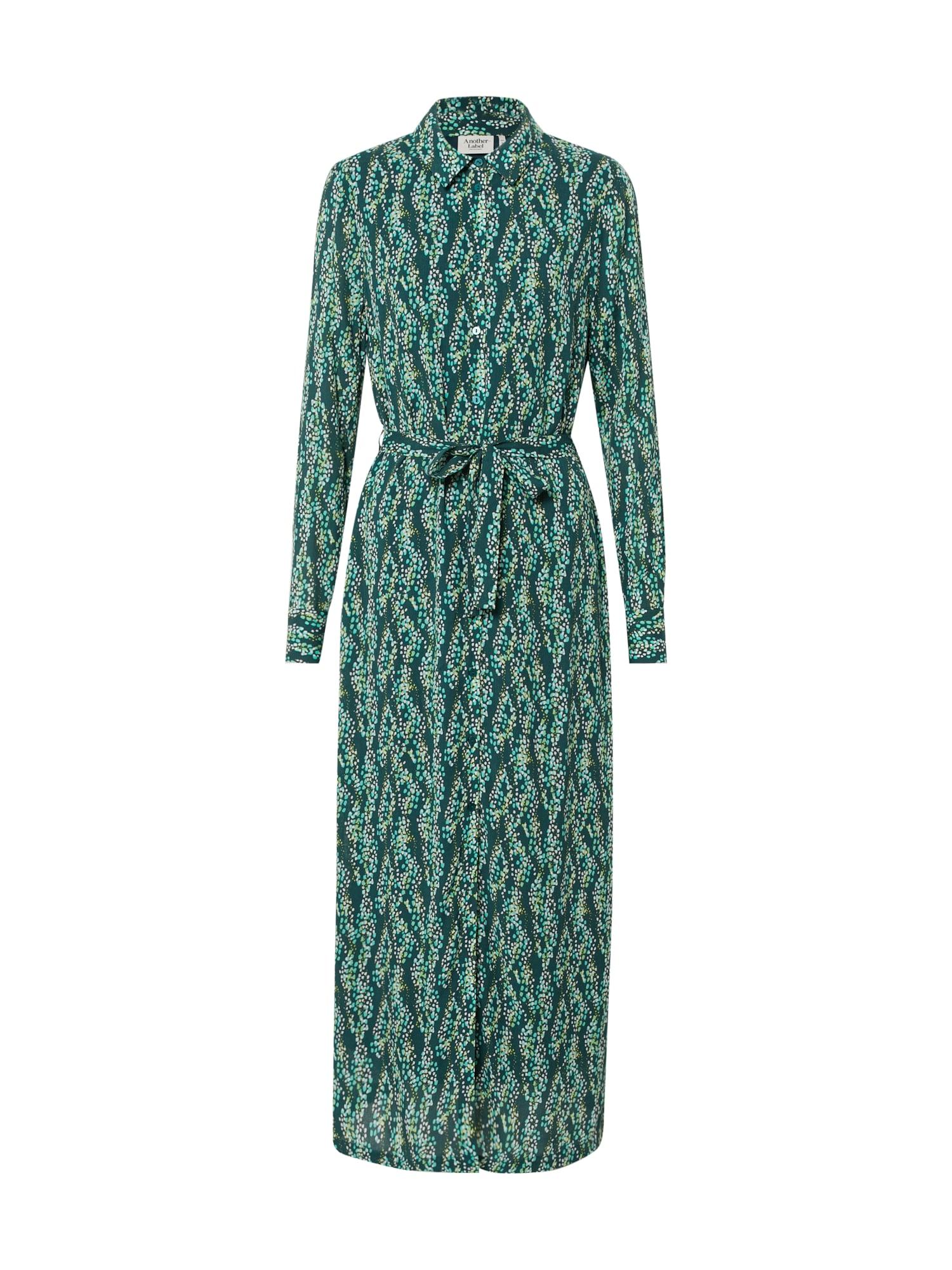 Another Label Palaidinės tipo suknelė 'Adeleide dress l/s' žalia